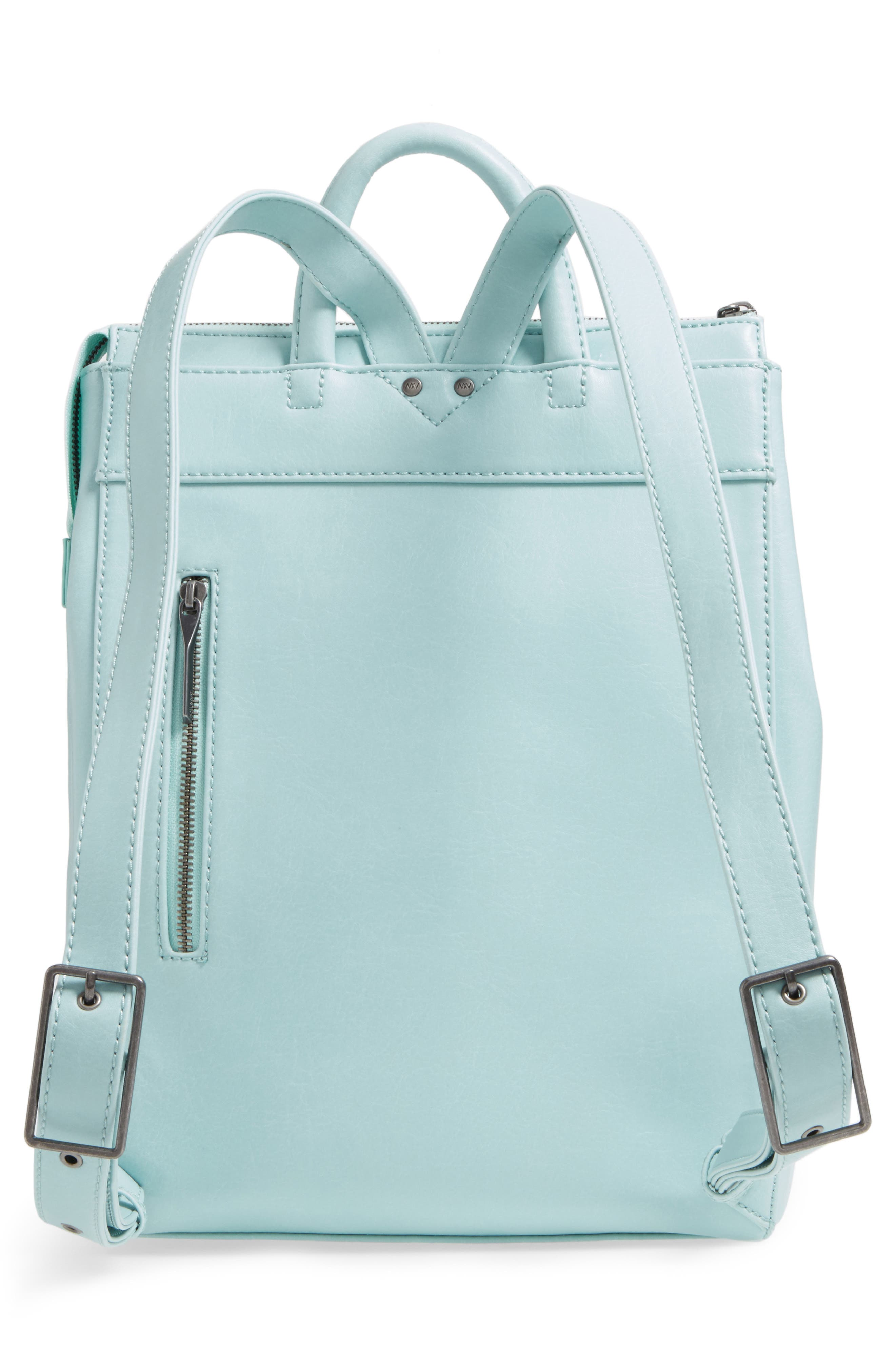 'Katherine' Faux Leather Backpack,                             Alternate thumbnail 19, color,