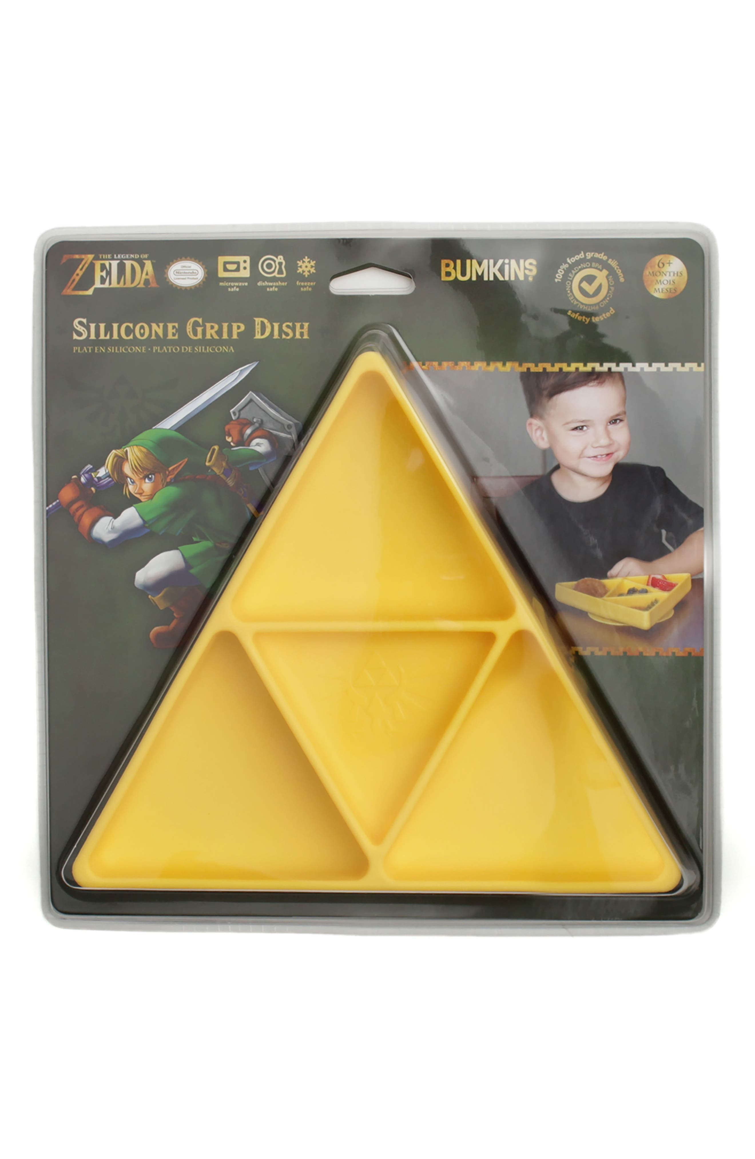The Legend of Zelda Grip Dish & Caped SuperBib Set,                             Alternate thumbnail 3, color,