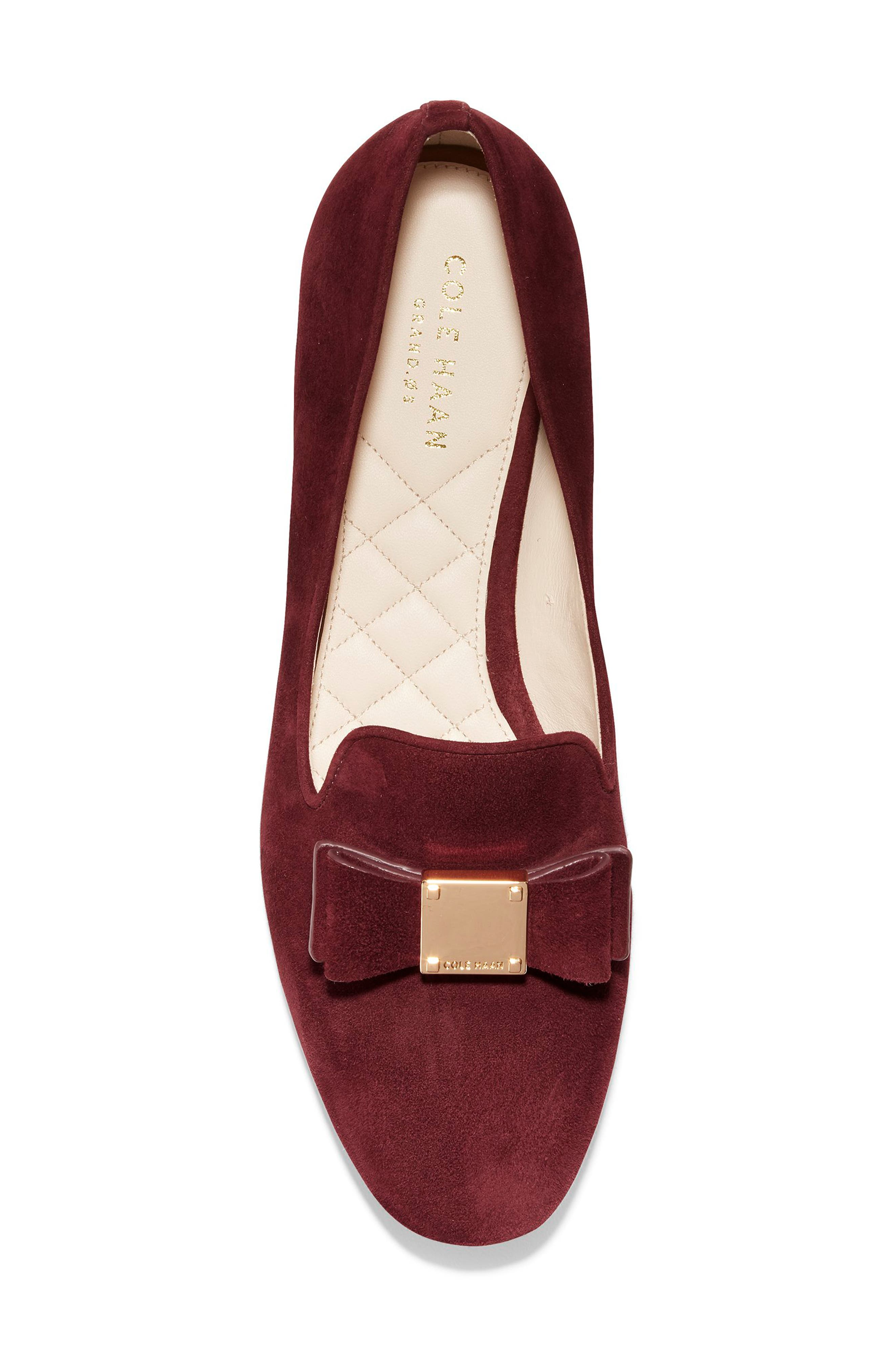 Tali Bow Loafer,                             Alternate thumbnail 5, color,                             605