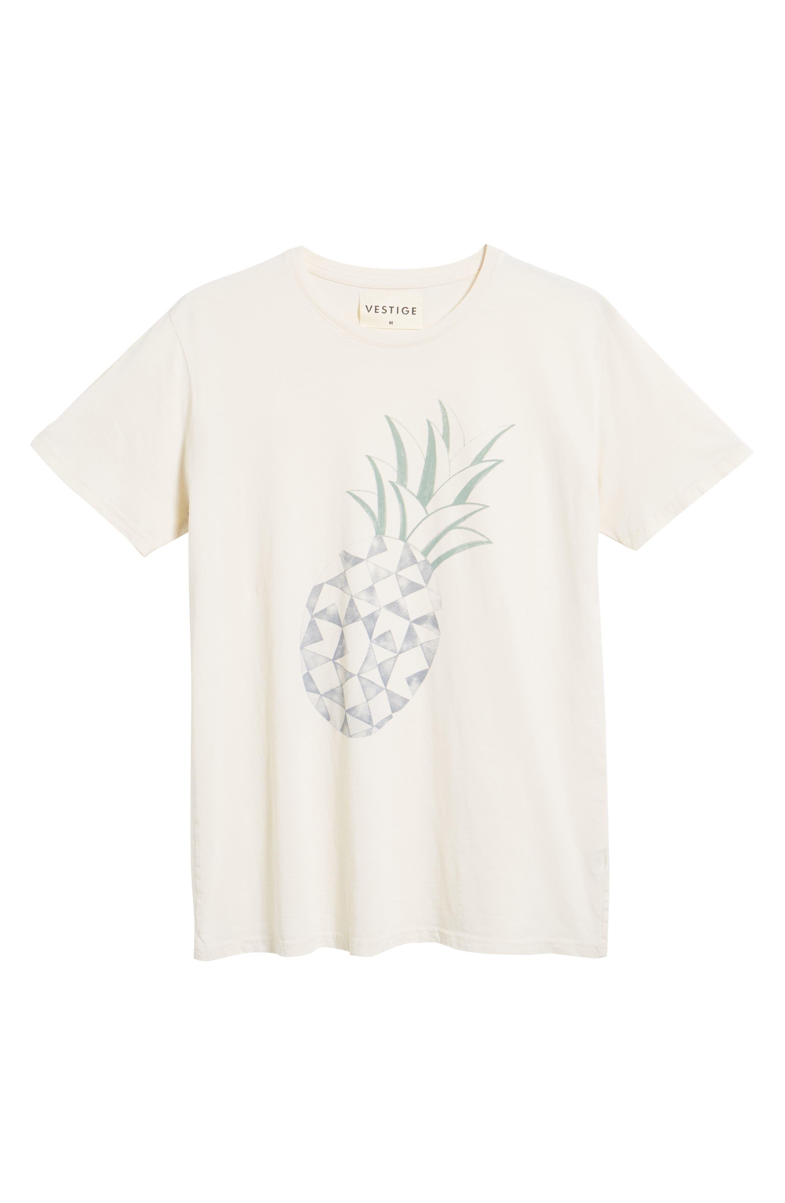 Pineapple Graphic T-Shirt,                             Alternate thumbnail 6, color,                             250