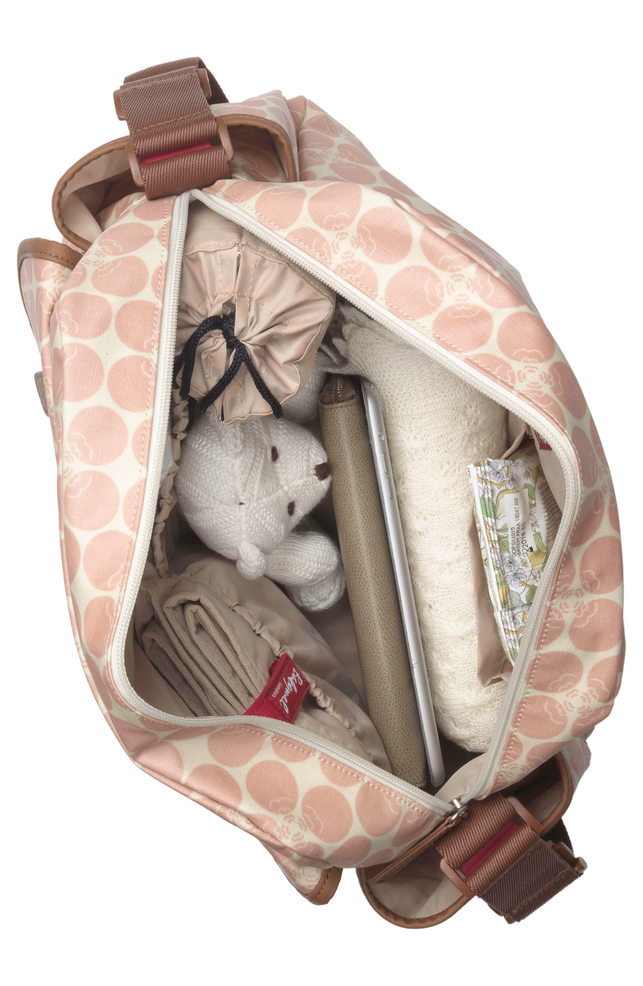 Molly Diaper Bag,                             Alternate thumbnail 8, color,