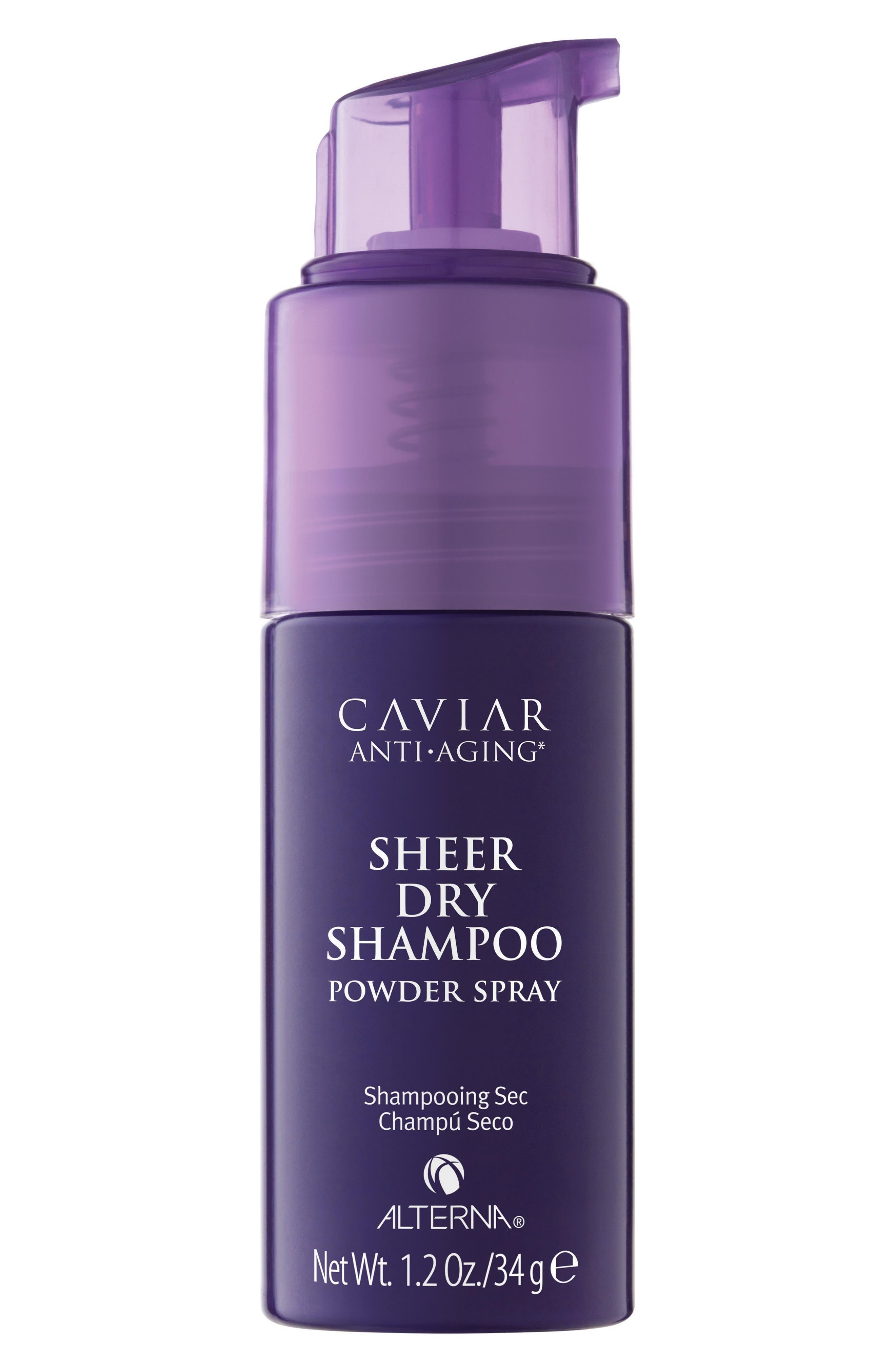 Caviar Sheer Dry Shampoo,                             Main thumbnail 1, color,                             000
