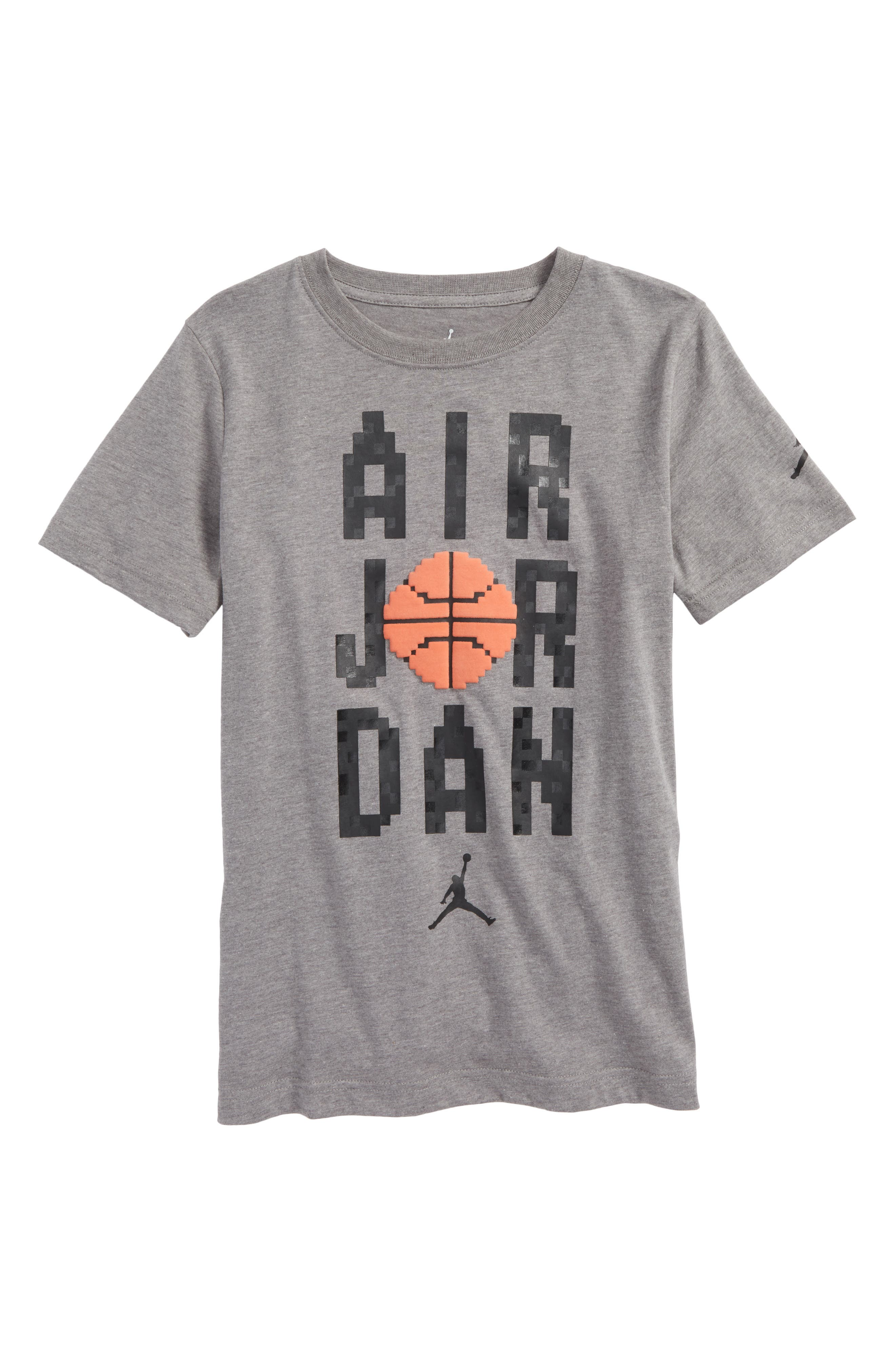 Jordan Pixel Pack Wordmark T-Shirt,                             Main thumbnail 1, color,                             020
