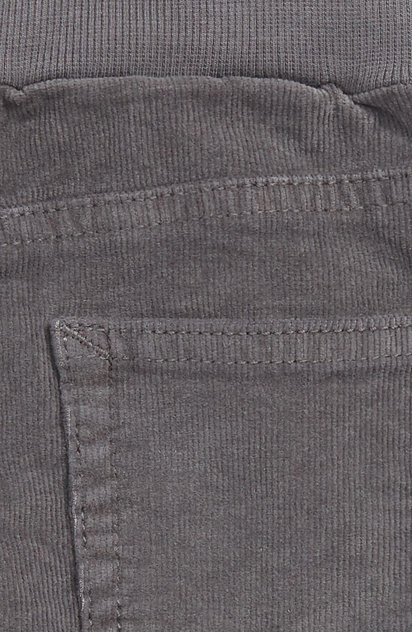 TUCKER + TATE,                             Corduroy Pants,                             Alternate thumbnail 3, color,                             GREY CASTLEROCK
