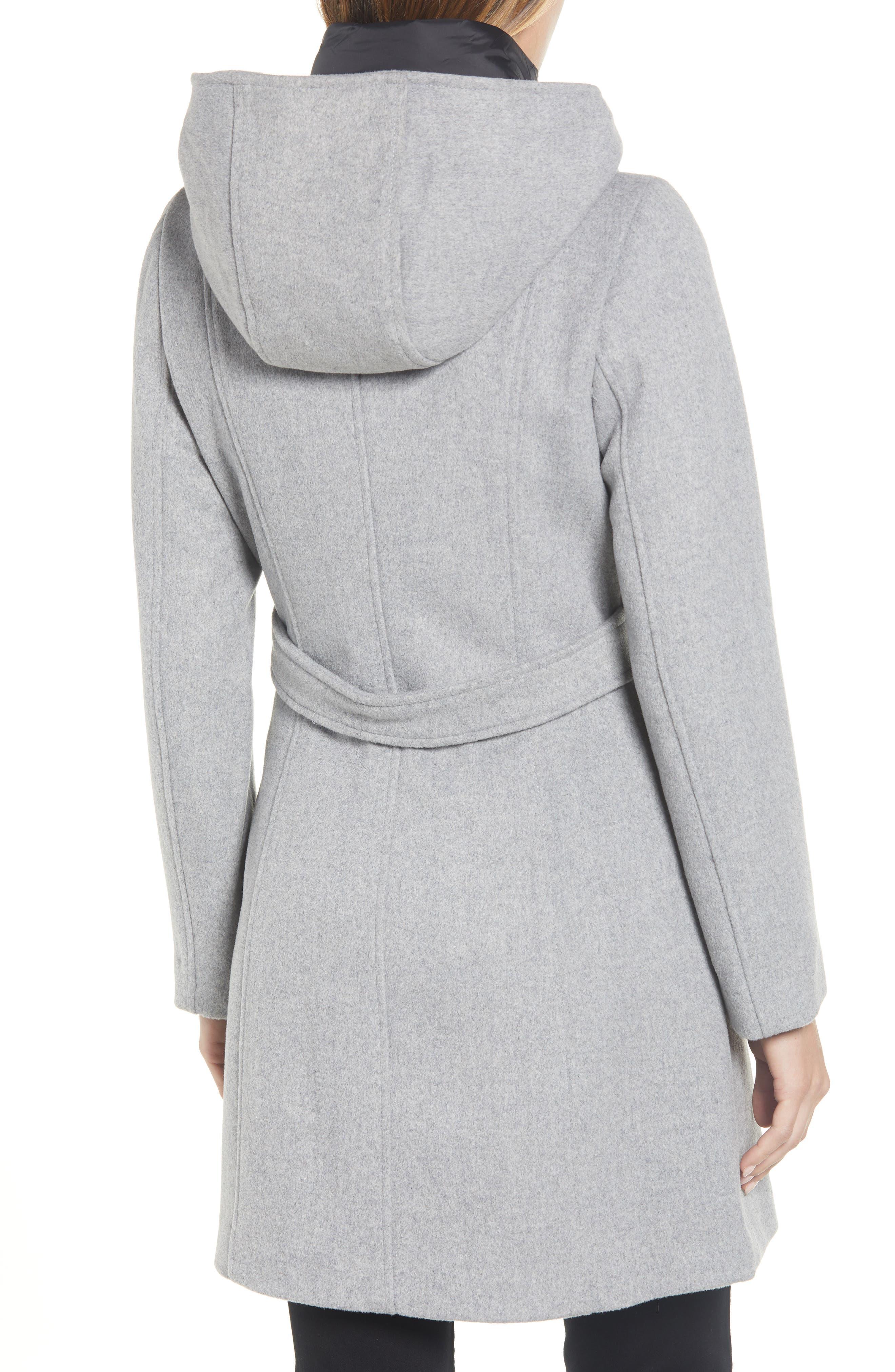 Hooded Twill Coat,                             Alternate thumbnail 2, color,                             033