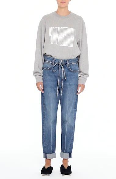 PSWL Cuffed Straight Leg Jeans, video thumbnail