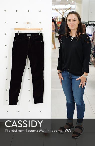 Margaux Instasculpt Ankle Skinny Velvet Pants, sales video thumbnail