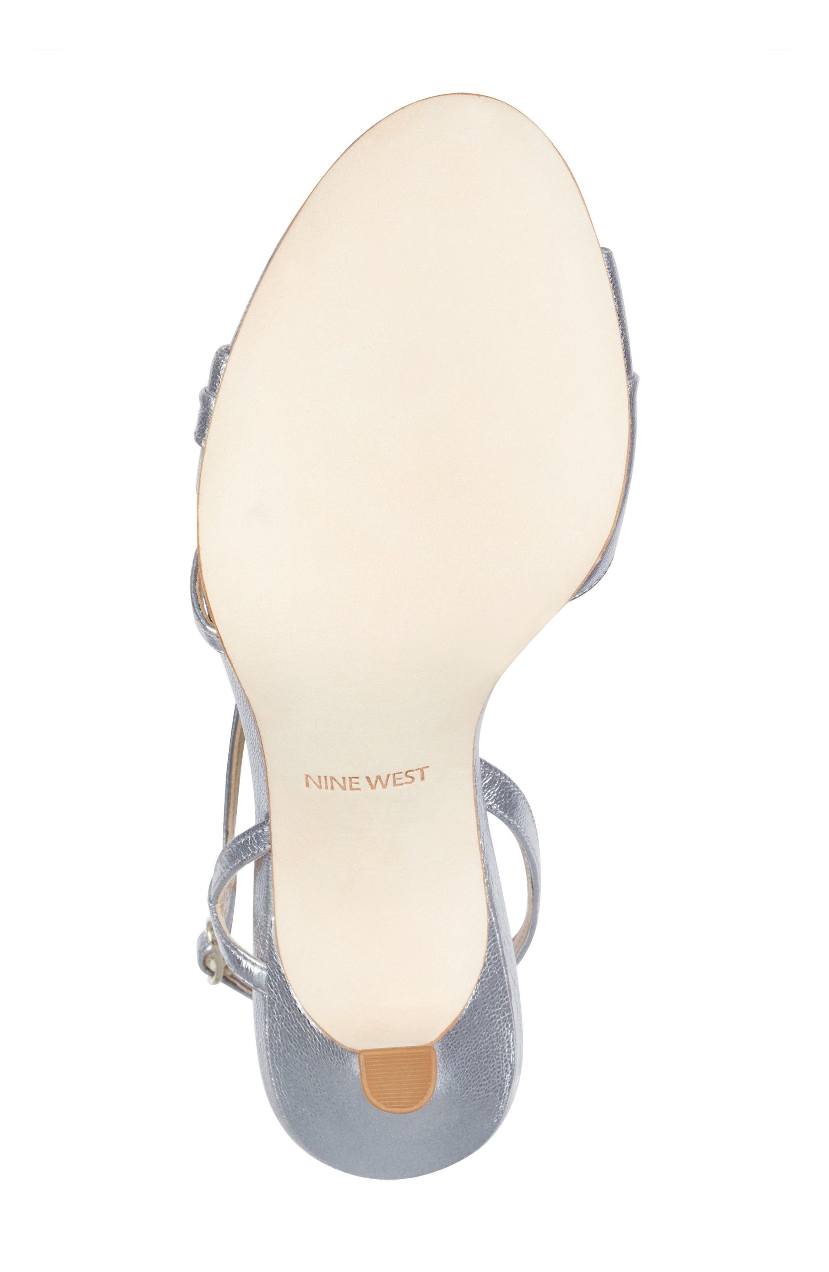 Accolia - 40th Anniversary Capsule Collection Sandal,                             Alternate thumbnail 6, color,                             SILVER LEATHER