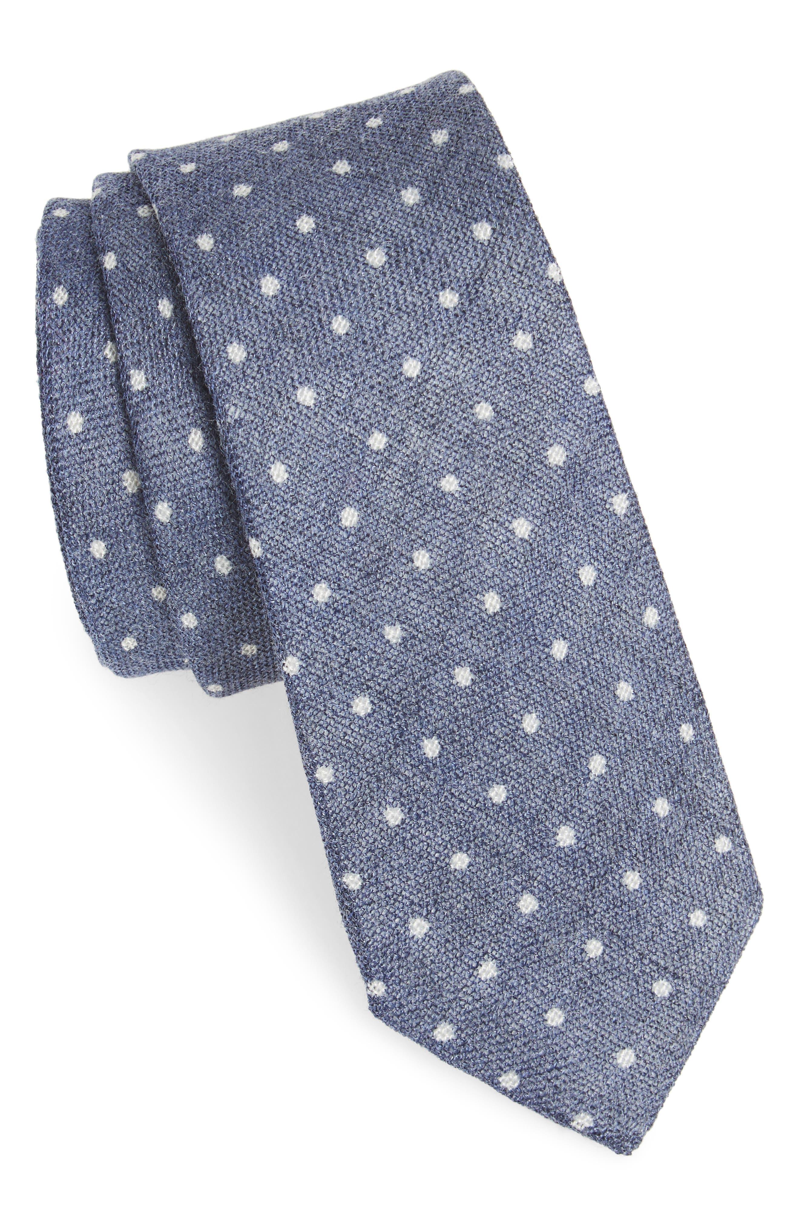 Bradford Dot Tie,                             Main thumbnail 2, color,