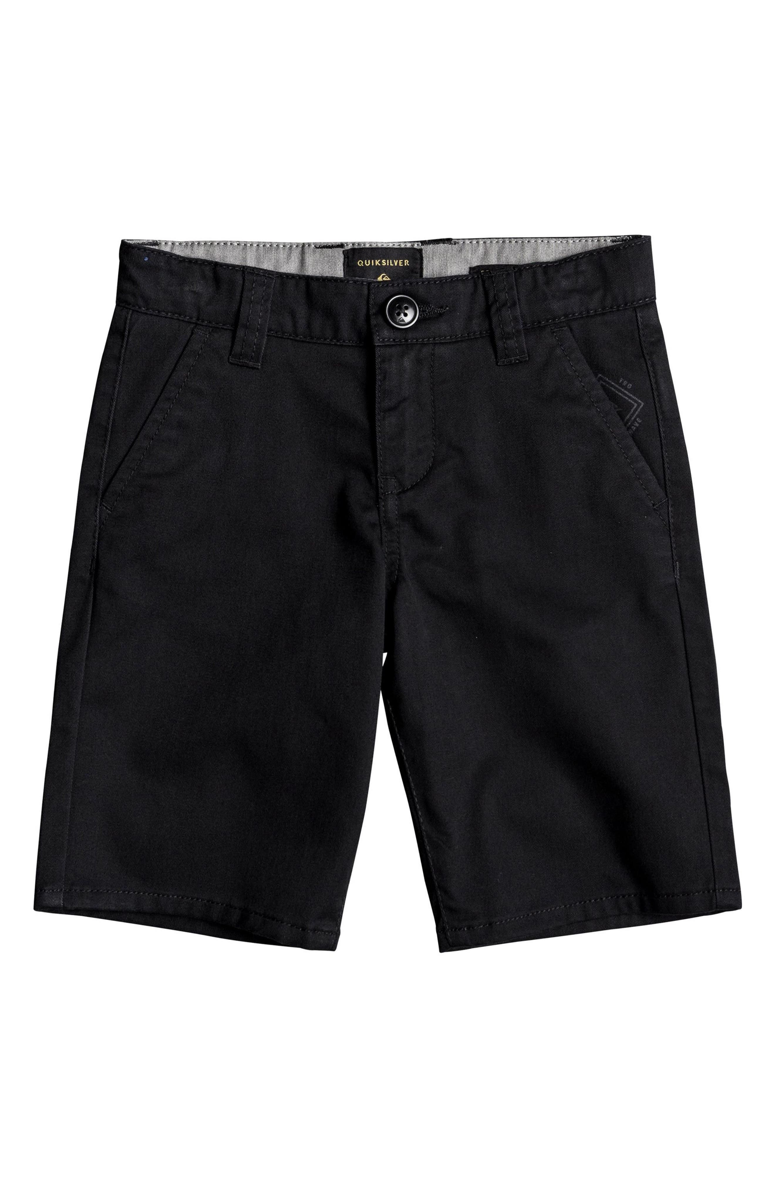 Everyday Union Stretch Shorts,                         Main,                         color, BLACK