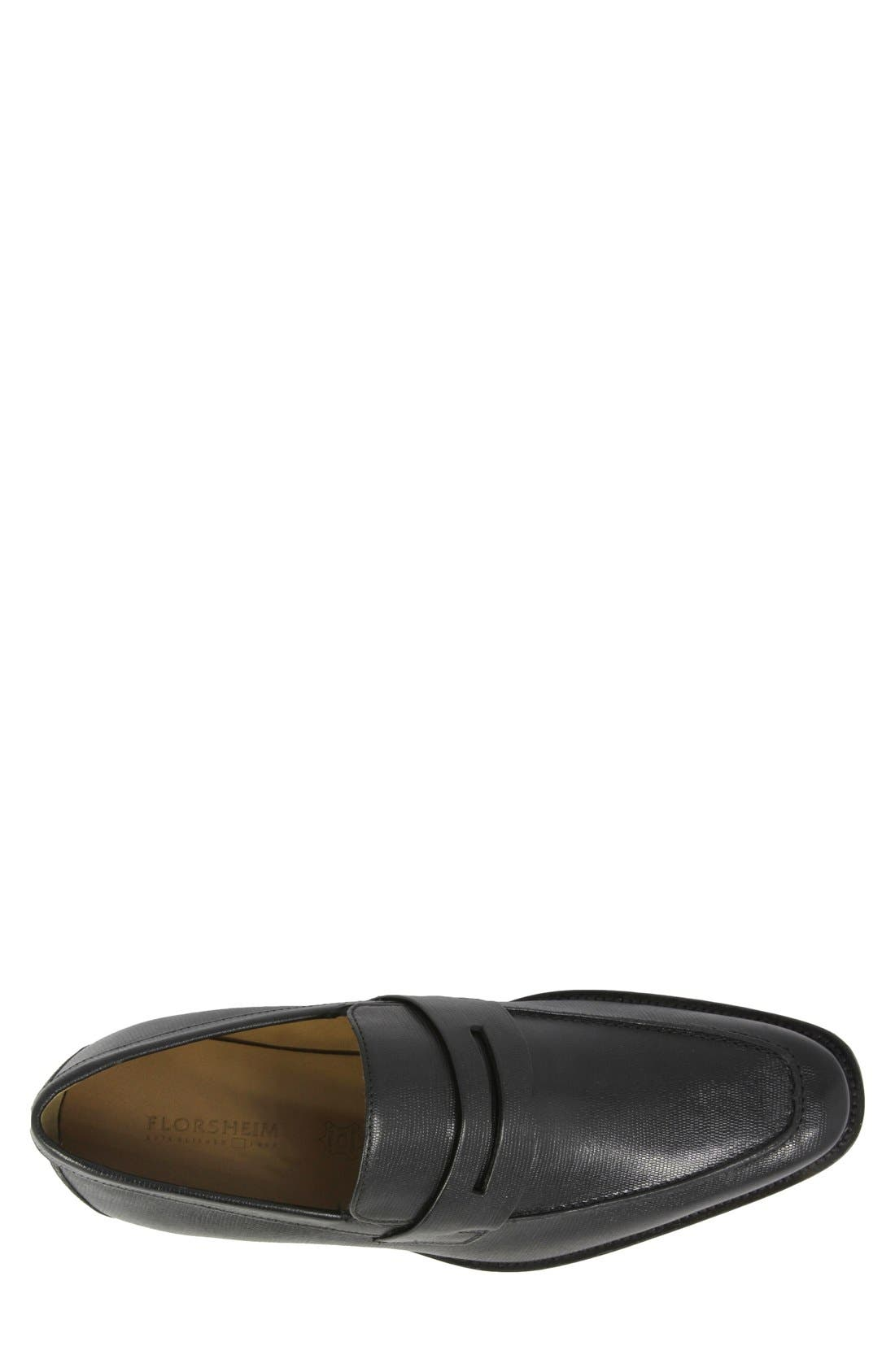 'Sabato' Penny Loafer,                             Alternate thumbnail 3, color,                             001