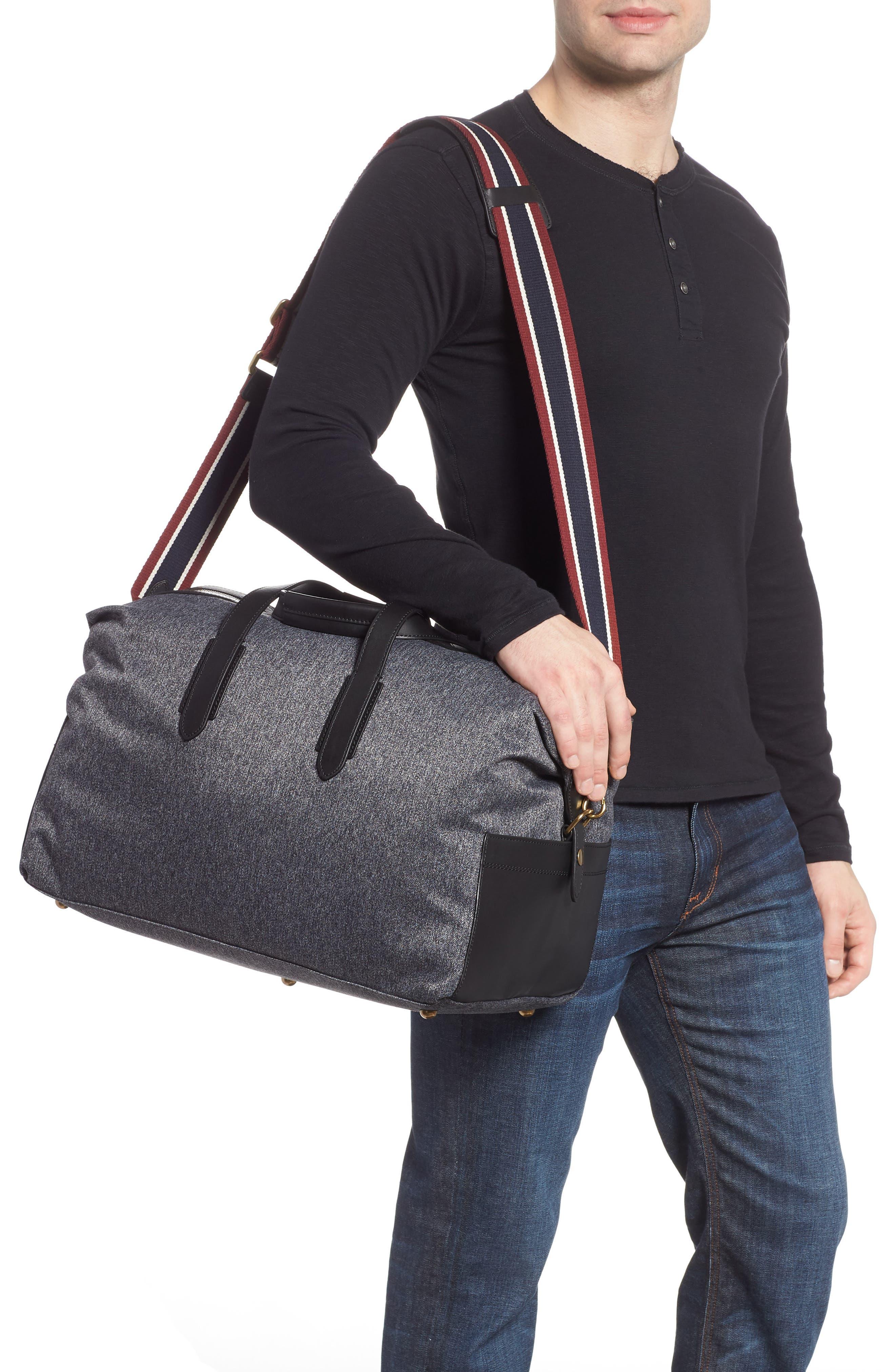 Oar Stripe Weekend Bag,                             Alternate thumbnail 2, color,                             001