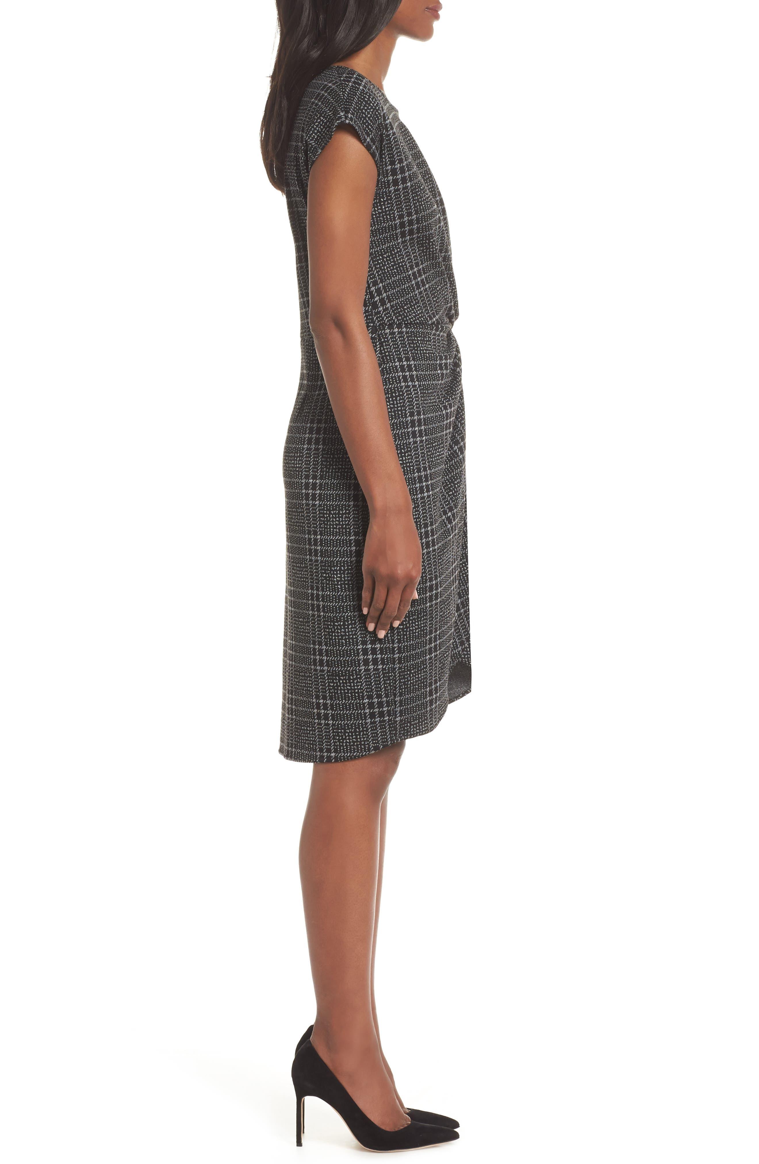Mini Twist Dress,                             Alternate thumbnail 3, color,                             024