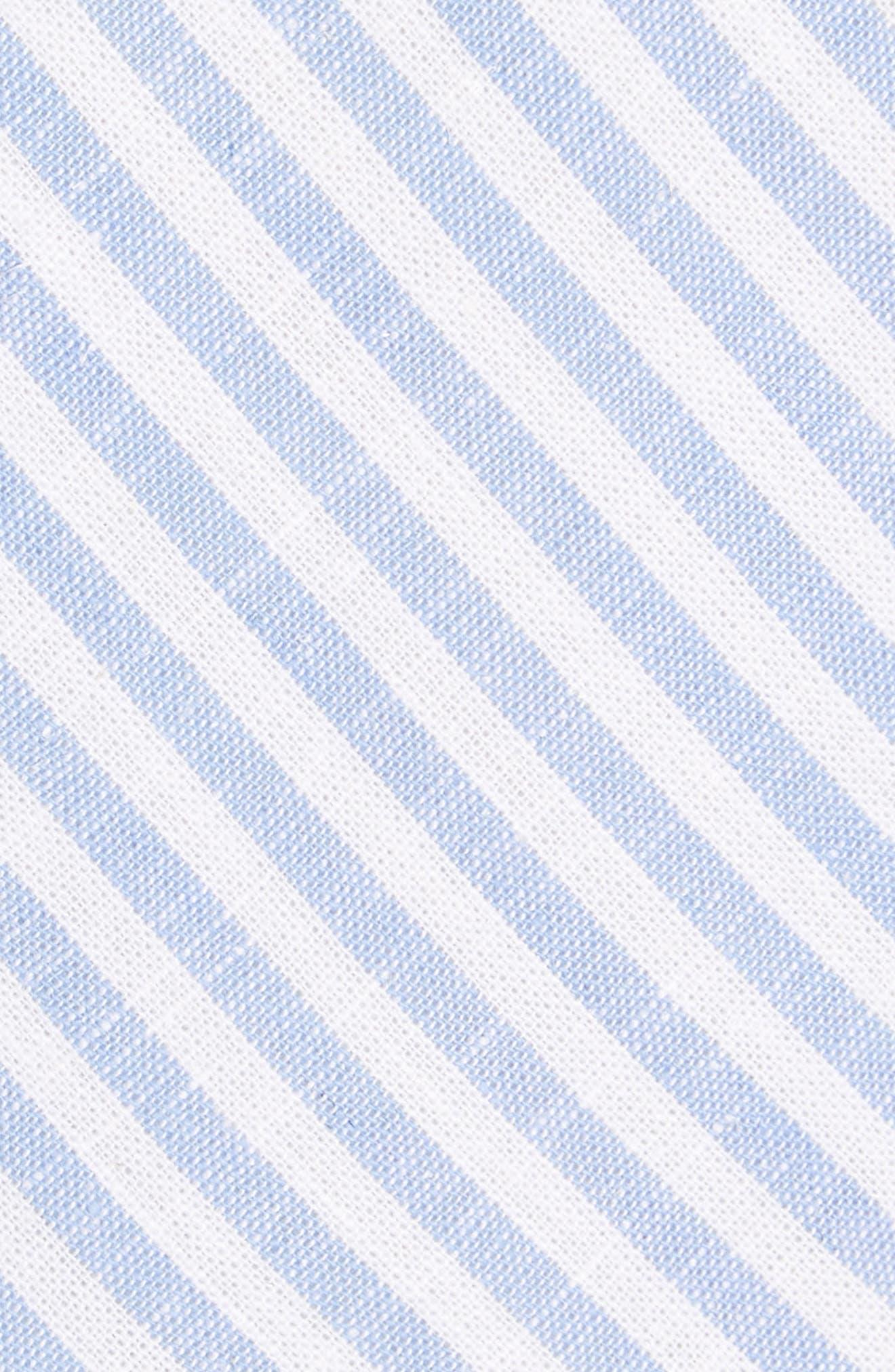 Stripe Cotton Tie,                             Alternate thumbnail 7, color,