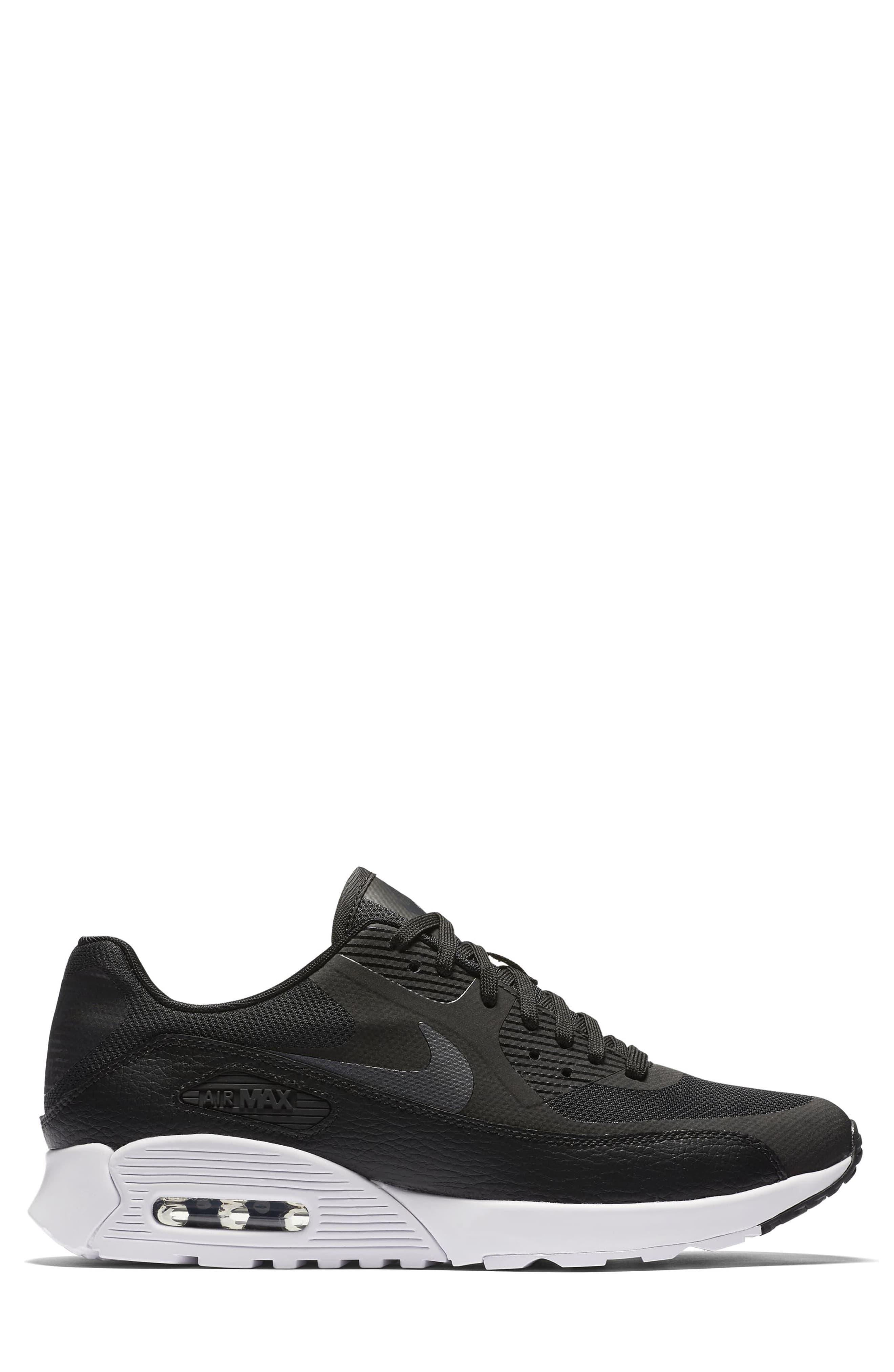 Air Max 90 Ultra 2.0 Sneaker,                             Alternate thumbnail 3, color,                             002