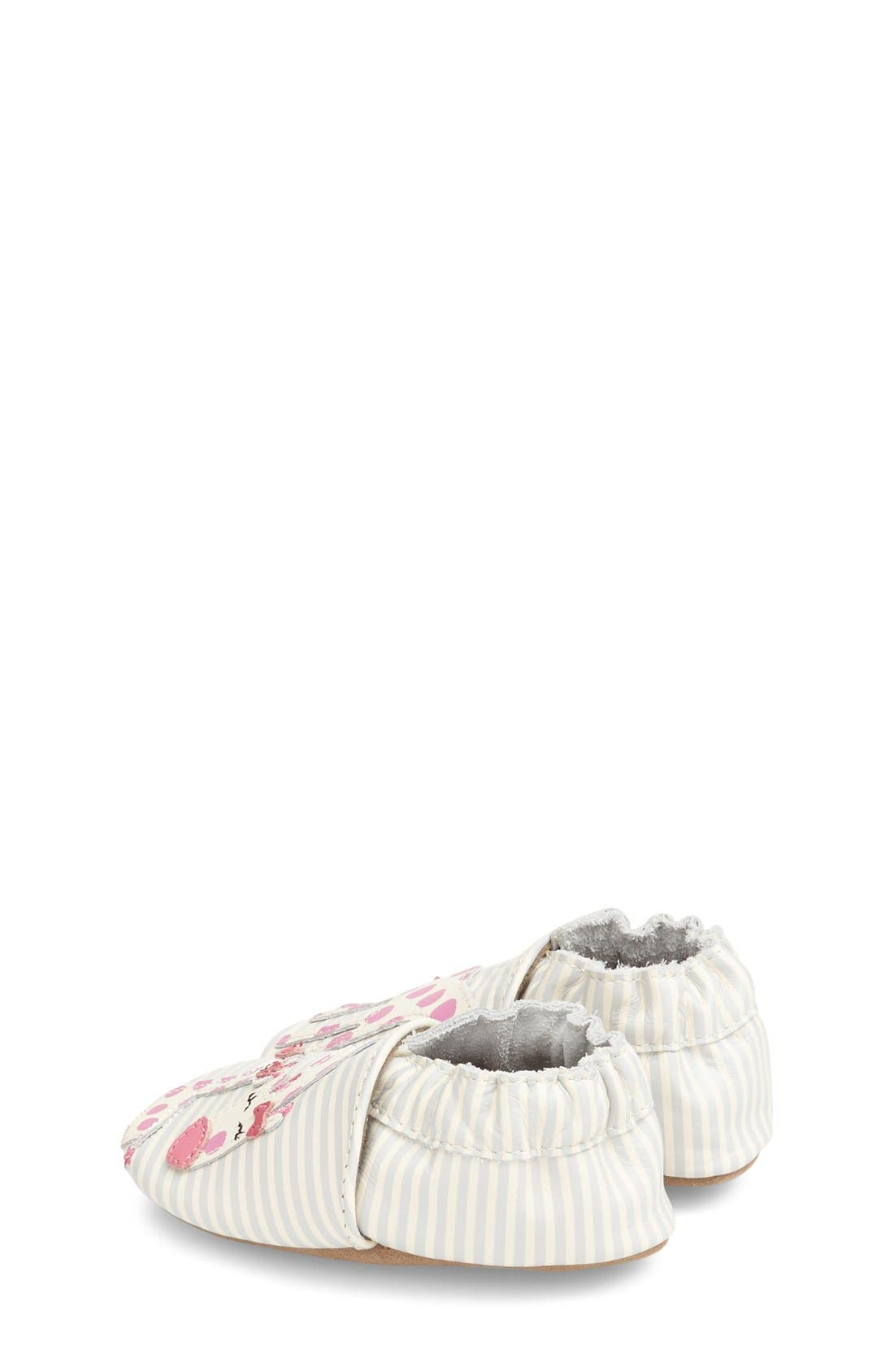 'Reaching for the Stars' Giraffe Crib Shoe,                             Alternate thumbnail 2, color,                             BEIGE