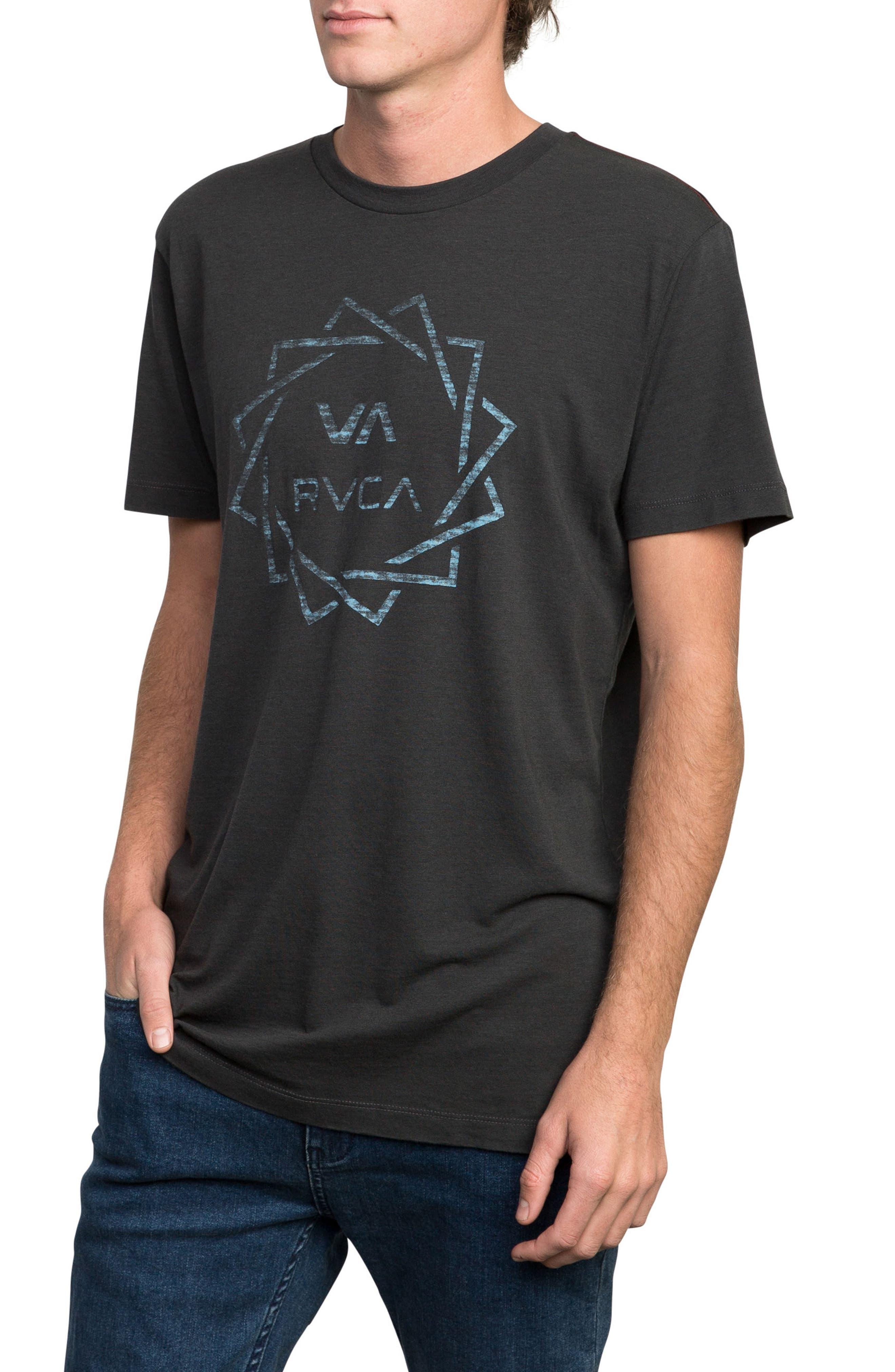 Blade Graphic T-Shirt,                             Alternate thumbnail 3, color,                             PIRATE BLACK