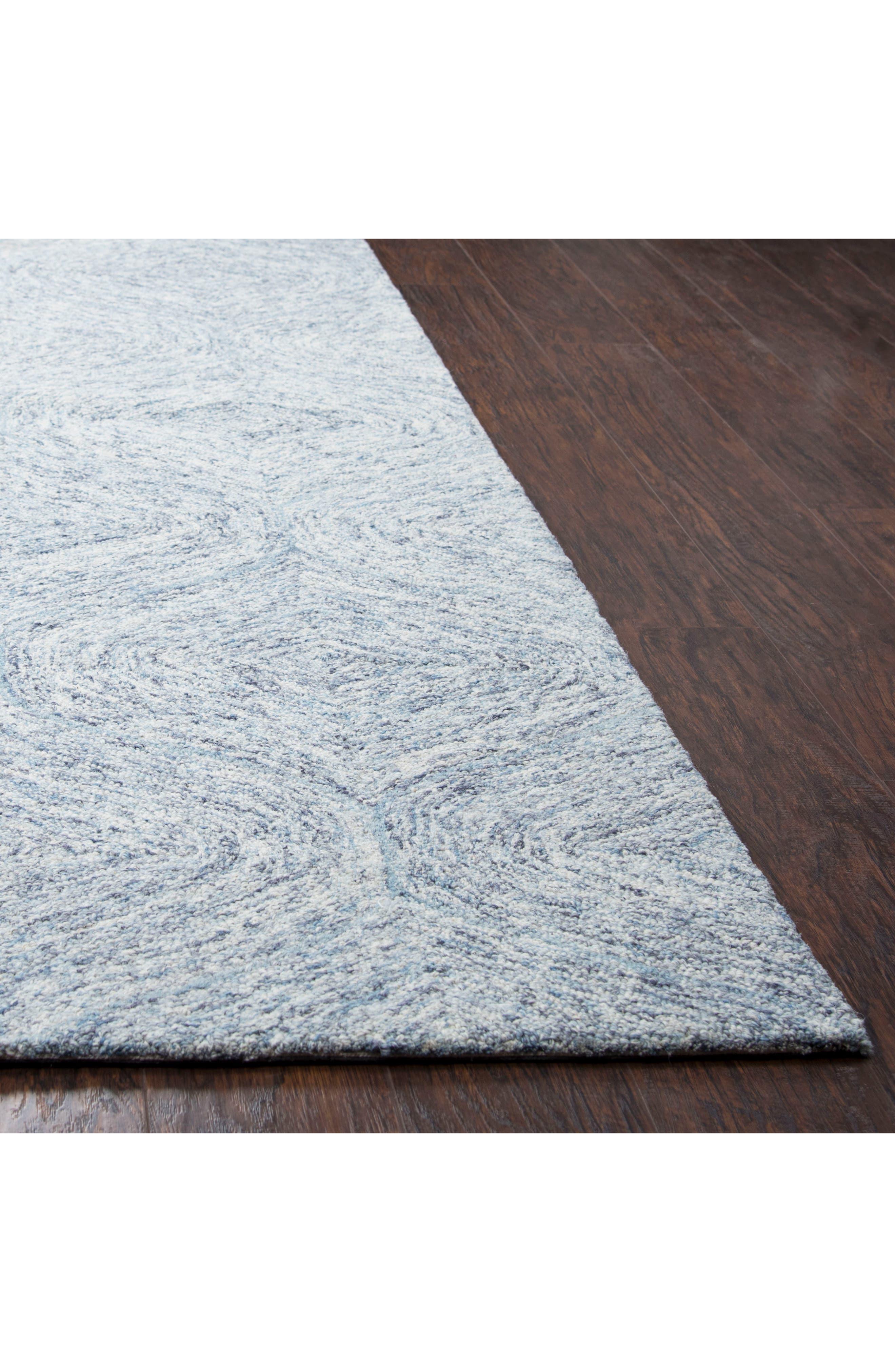 Irregular Diamond Hand Tufted Wool Area Rug,                             Alternate thumbnail 10, color,
