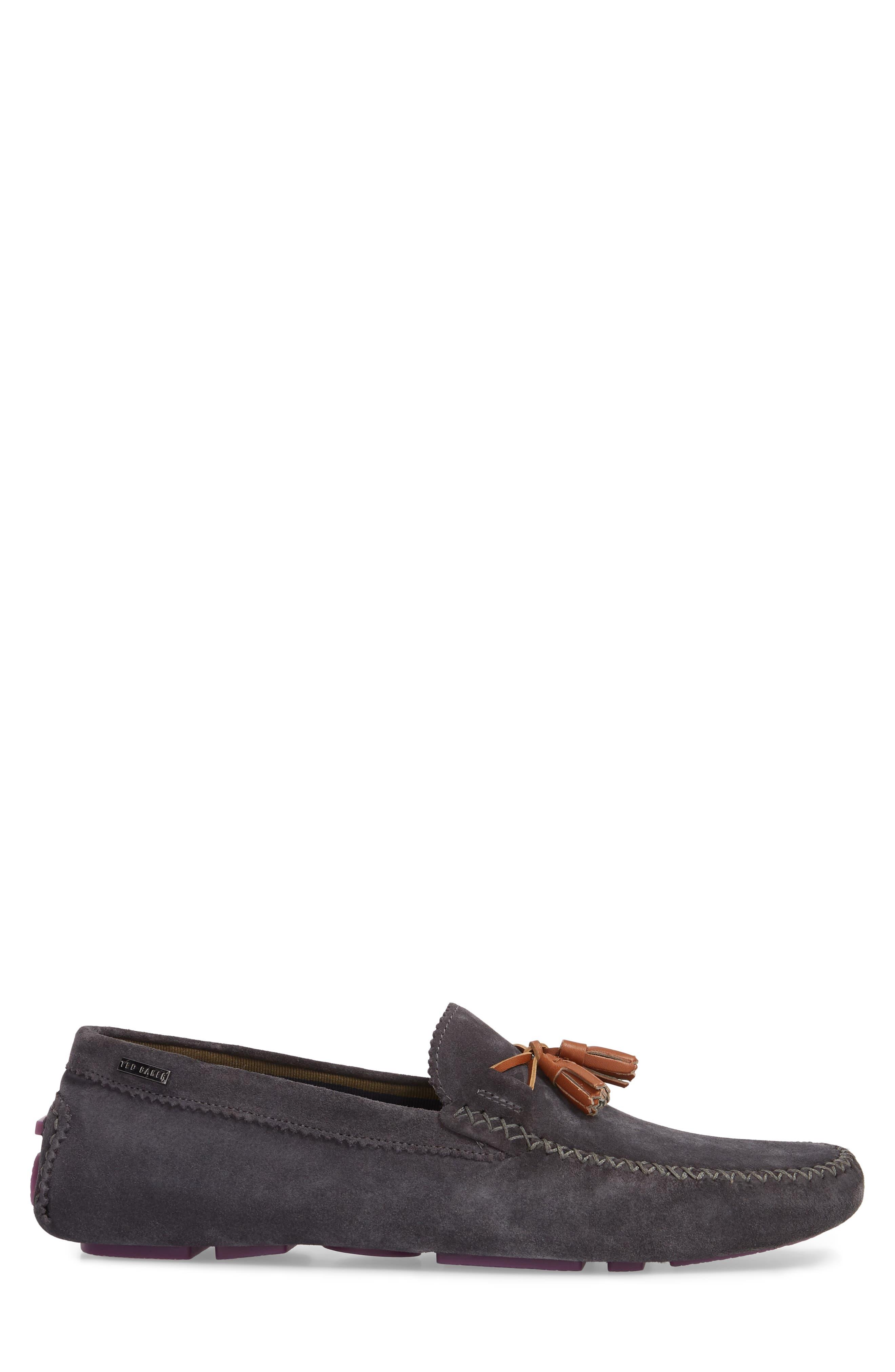 Urbonns Tasseled Driving Loafer,                             Alternate thumbnail 3, color,                             070