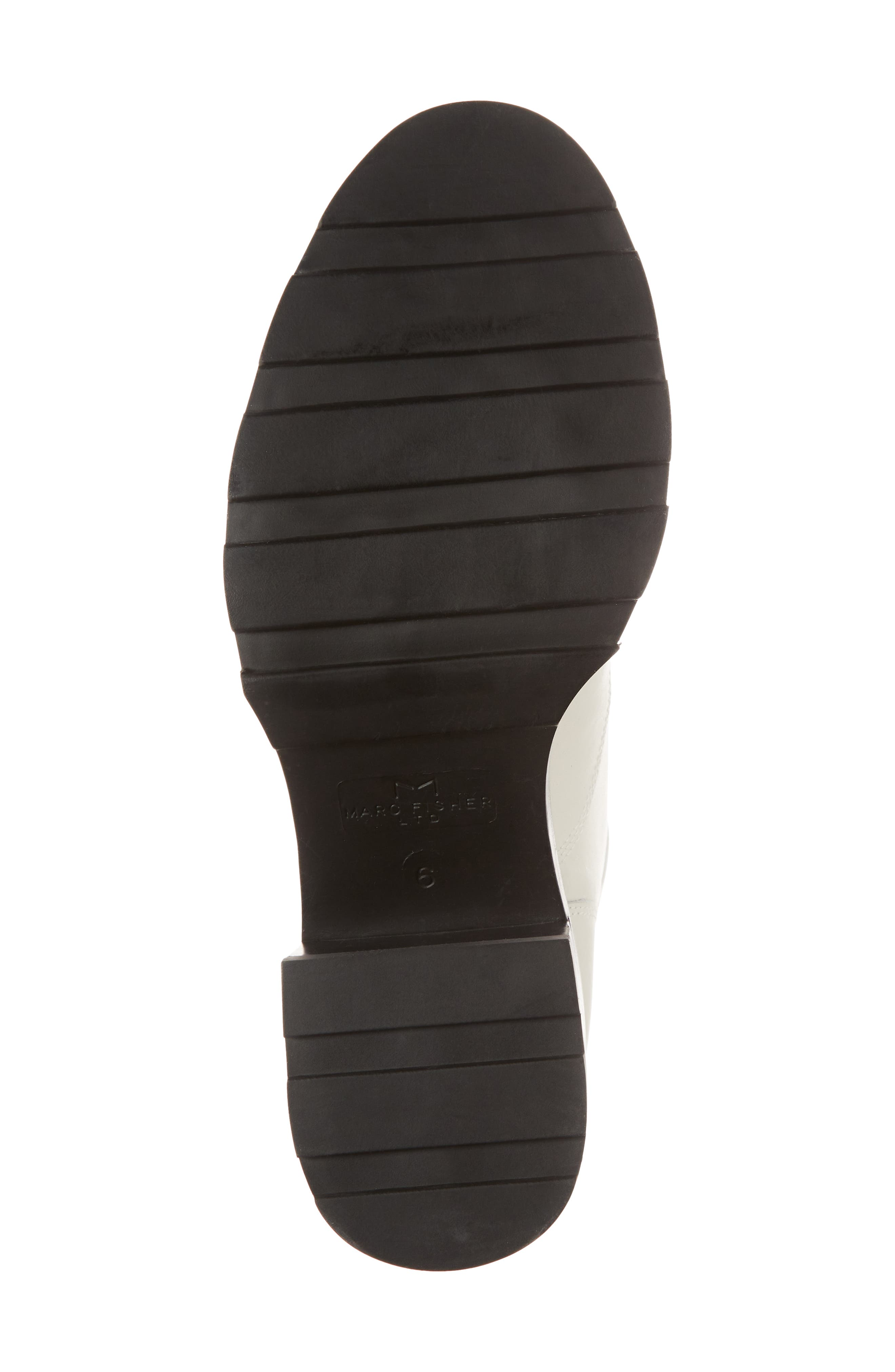Warid Moto Bootie,                             Alternate thumbnail 6, color,                             IVORY LEATHER