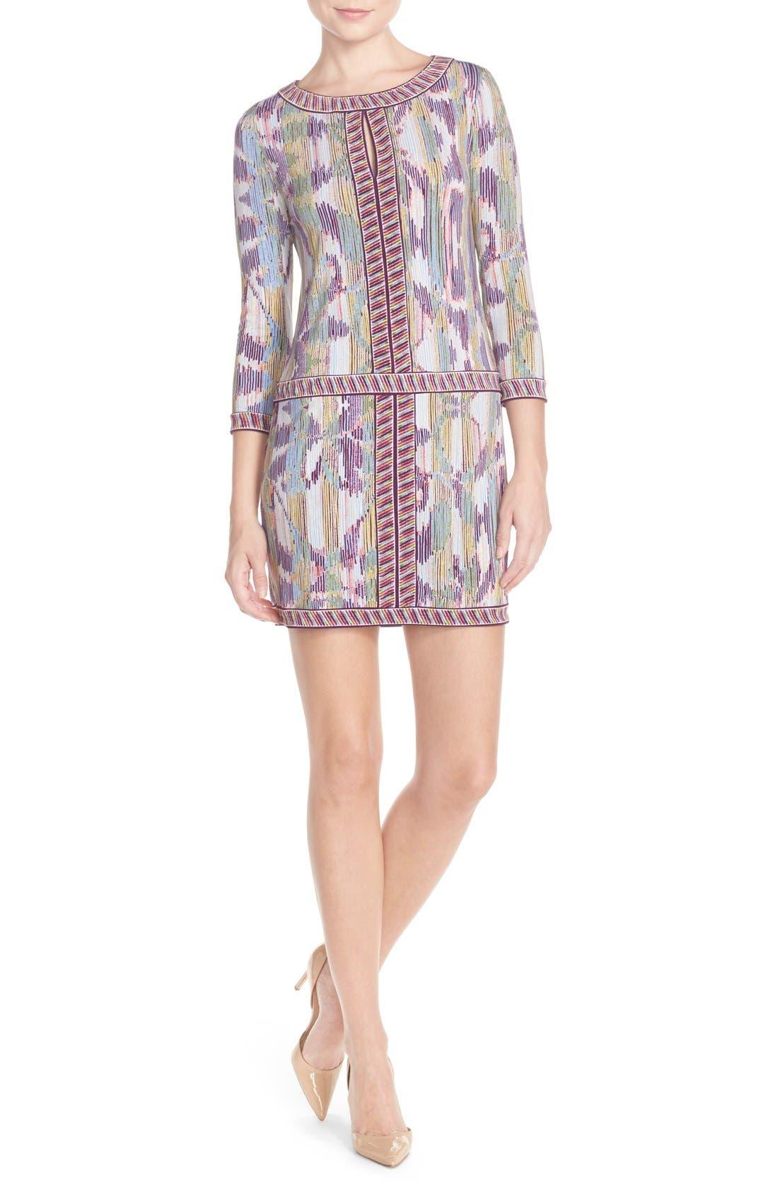 'Tawnya' Print Jersey Dress,                             Alternate thumbnail 2, color,                             590