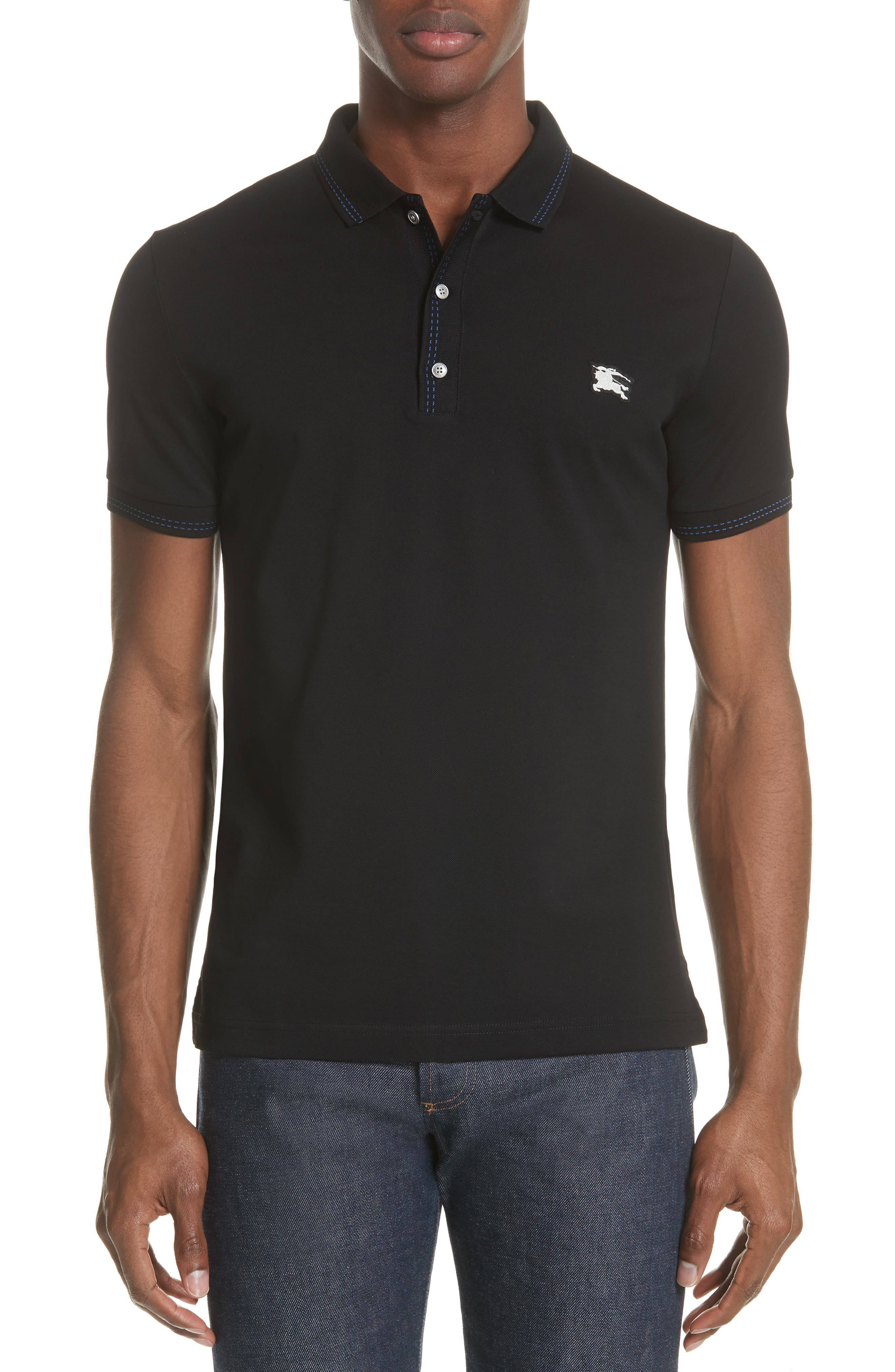 Kenforth Polo,                             Main thumbnail 1, color,                             BLACK