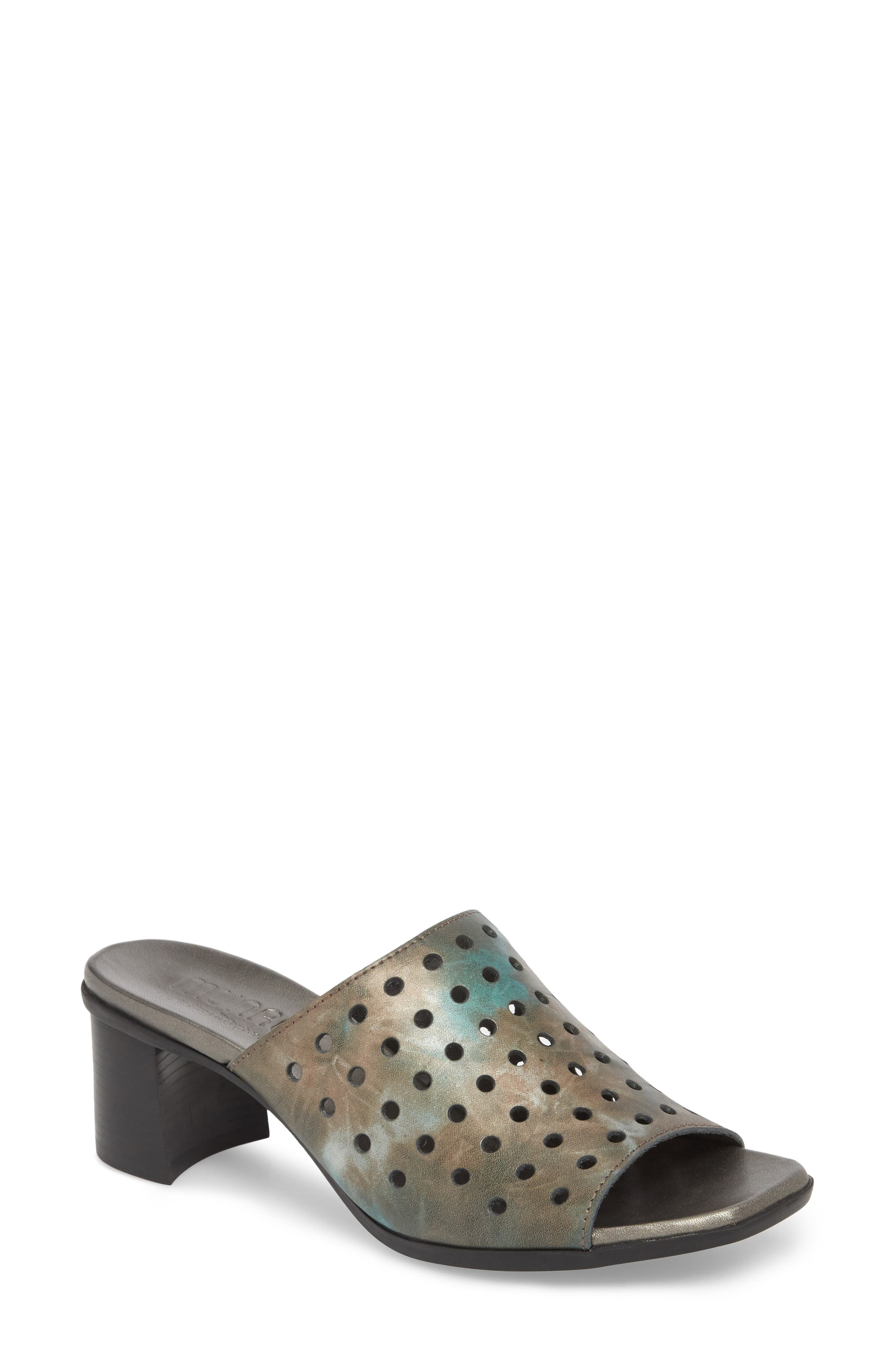 Jules Mule,                         Main,                         color, MIXED METAL LEATHER