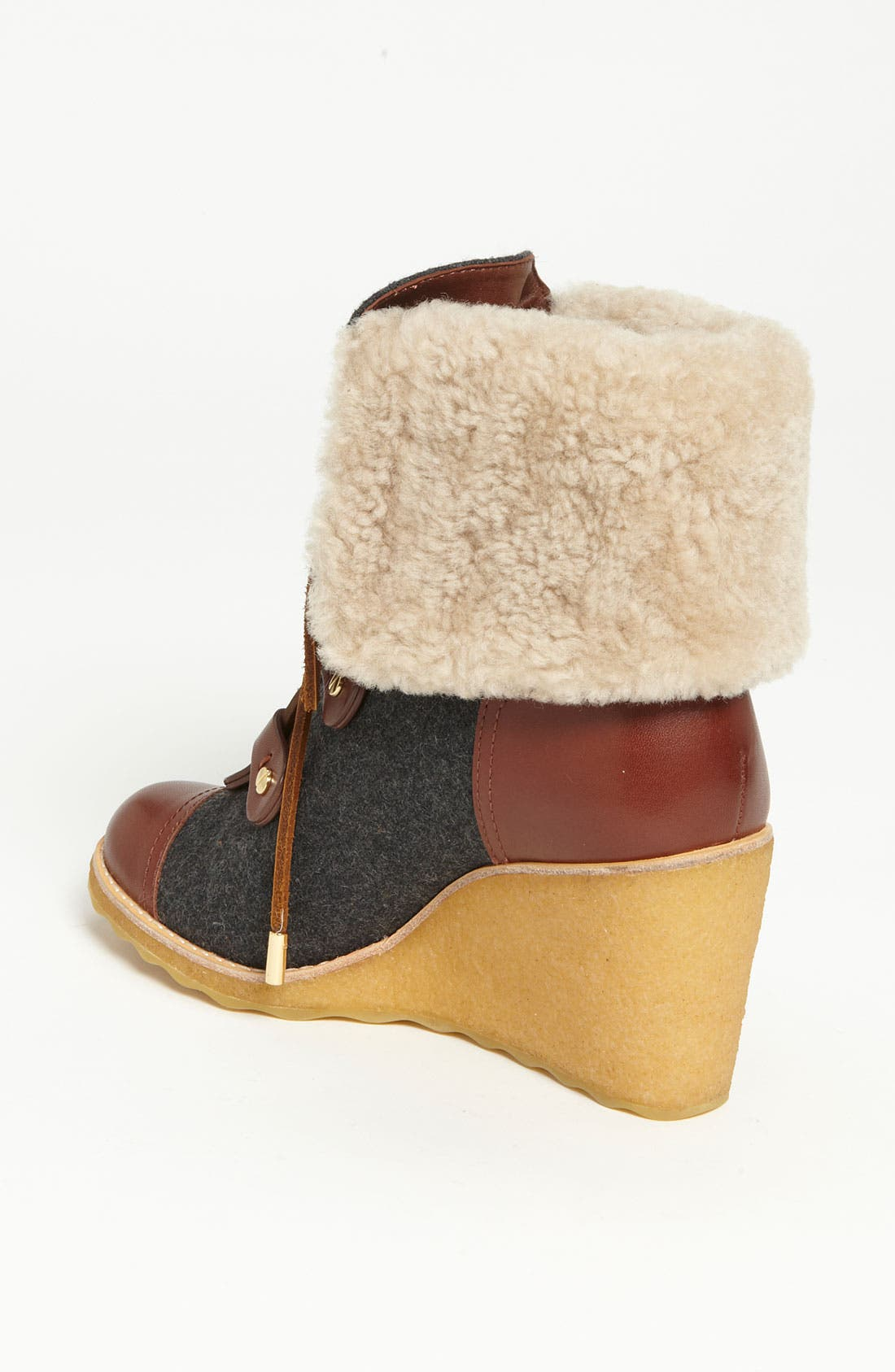 'Marley' Wedge Bootie,                             Alternate thumbnail 3, color,                             058