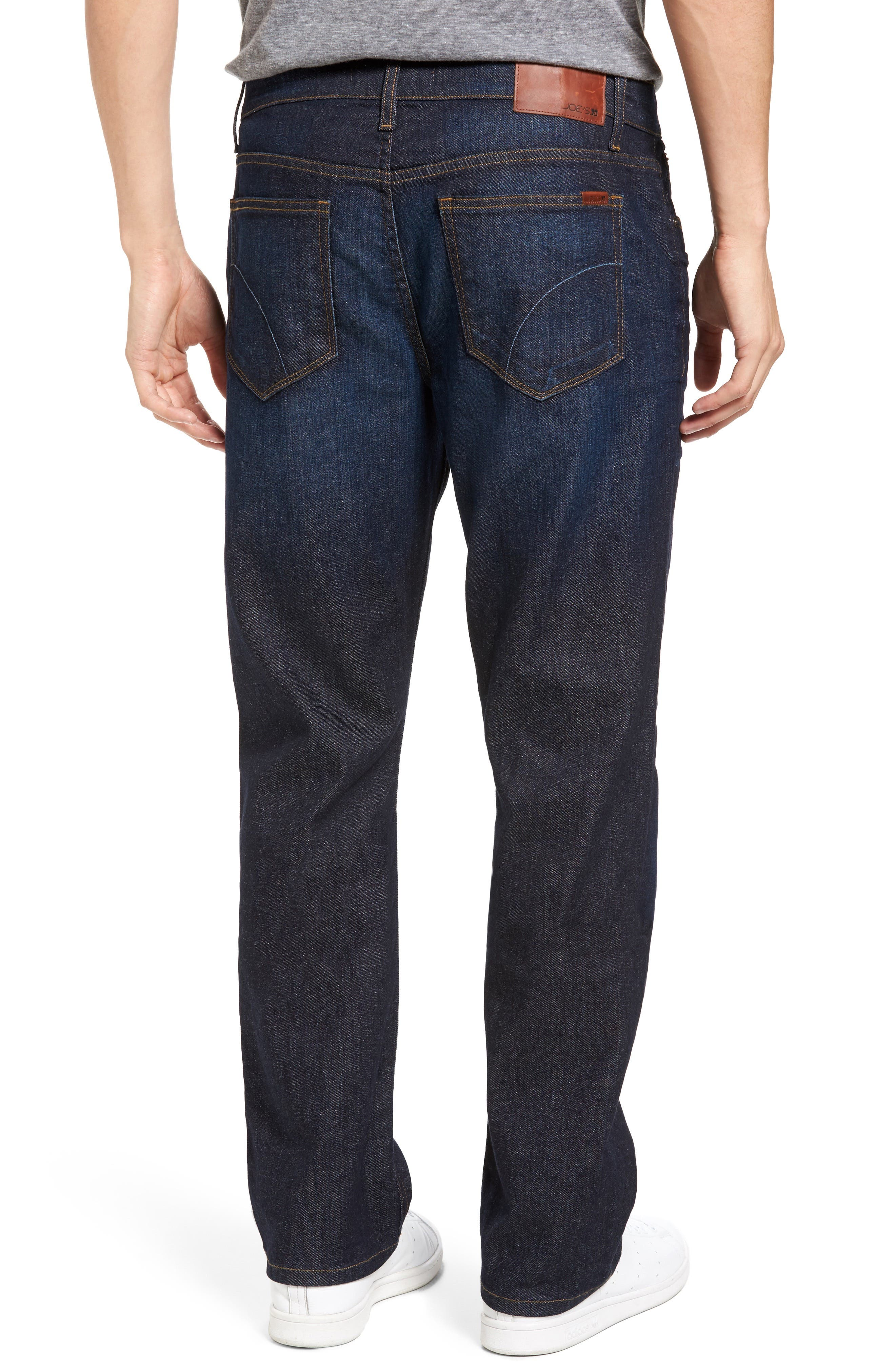 Classic Straight Fit Jeans,                             Alternate thumbnail 3, color,                             TIMOTHY