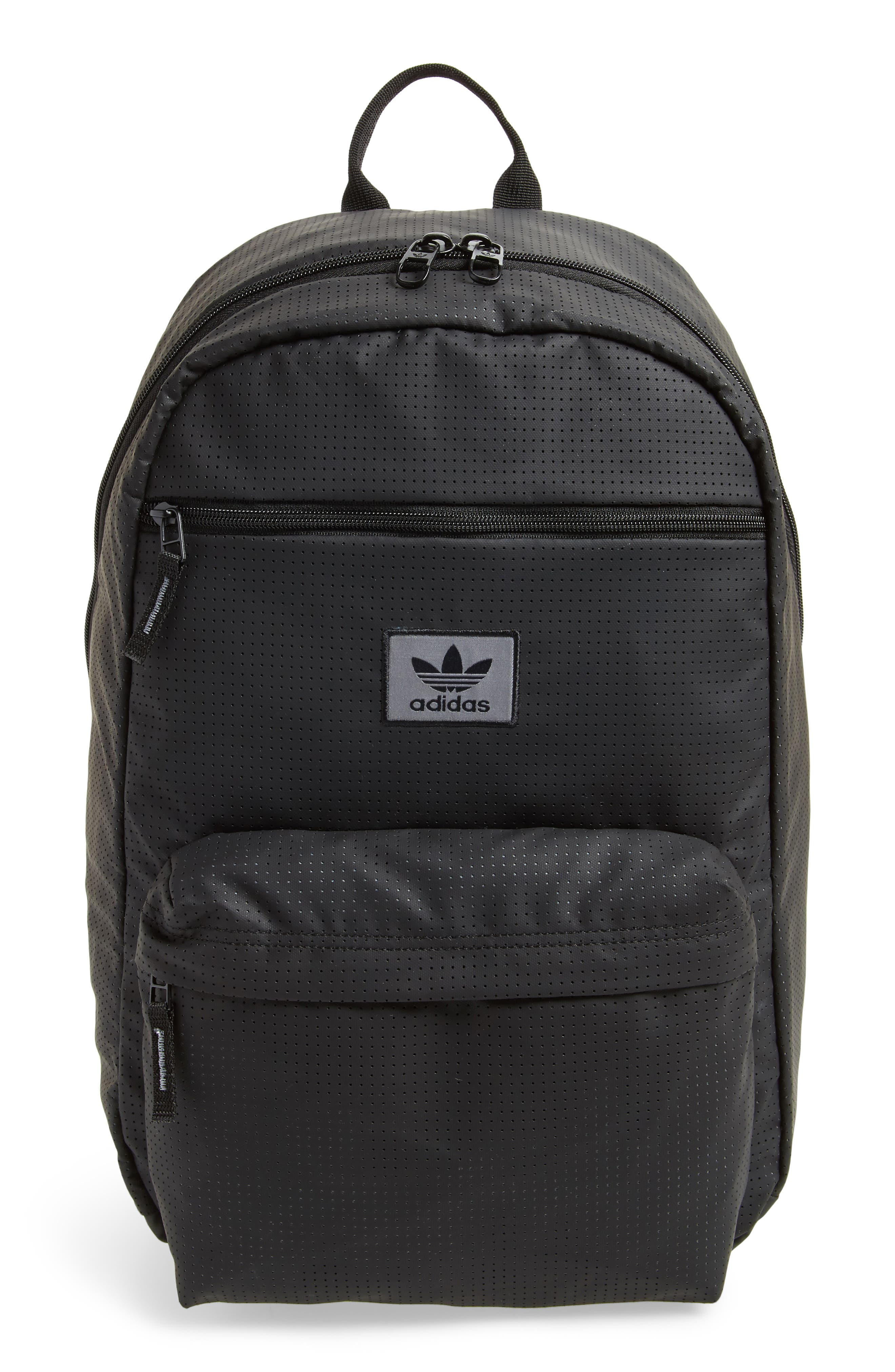 ADIDAS ORIGINALS National Backpack, Main, color, 001