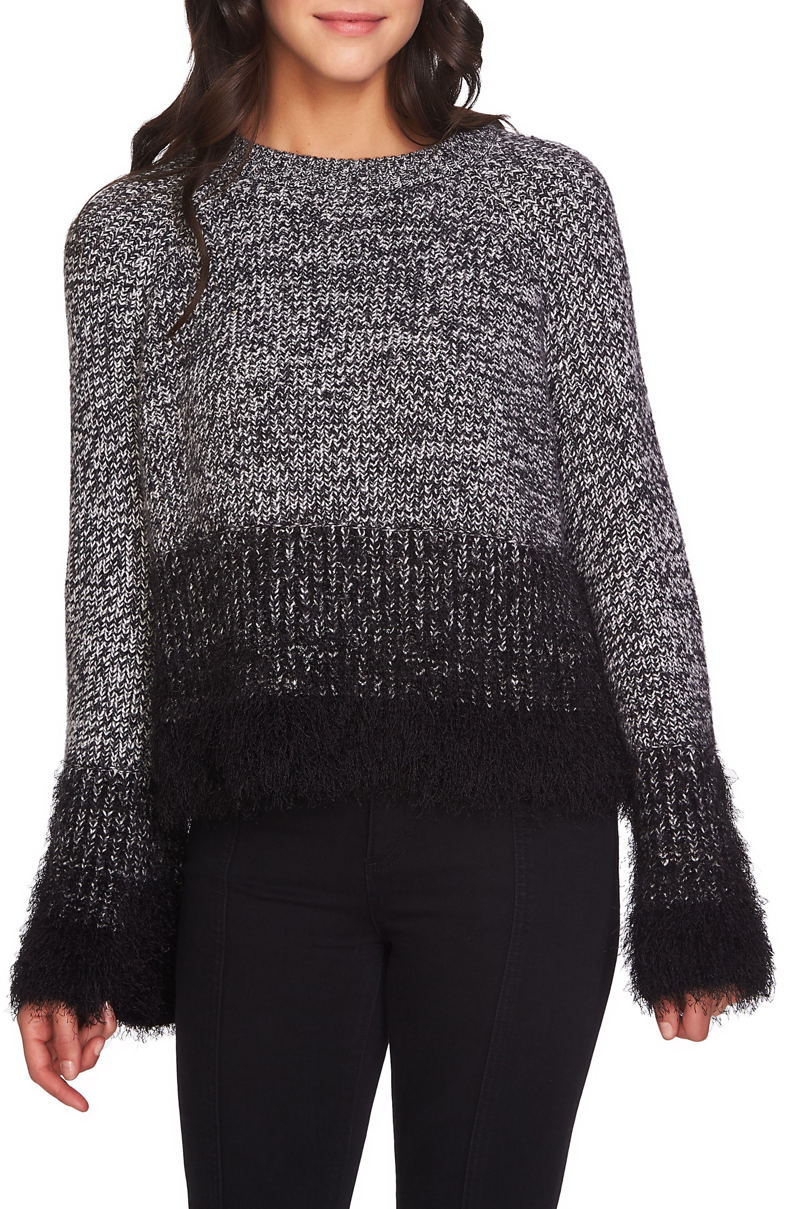 Eyelash Fringe Sweater,                             Main thumbnail 1, color,                             006