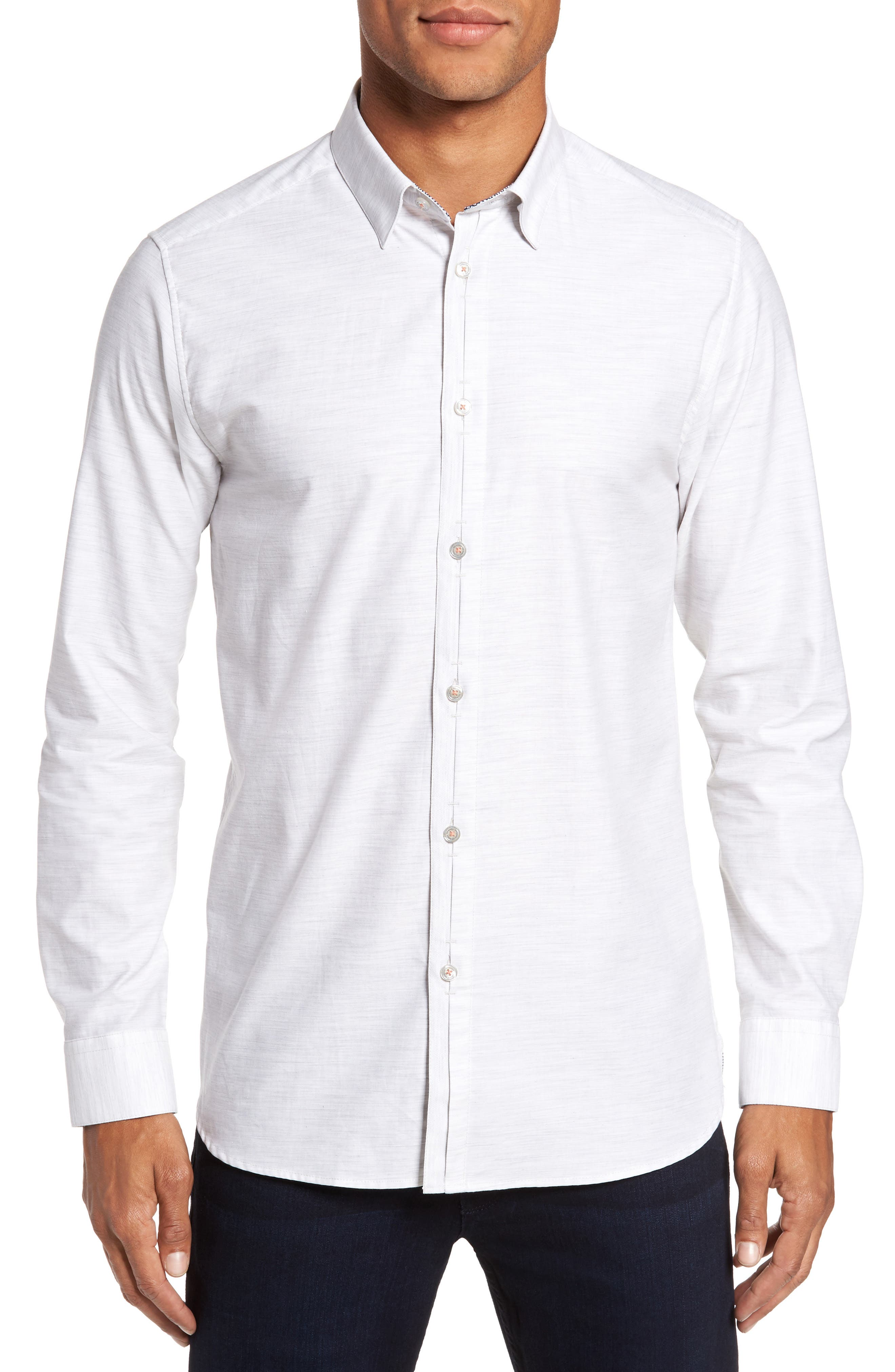 Annisley Modern Slim Fit Sport Shirt,                             Main thumbnail 1, color,                             031