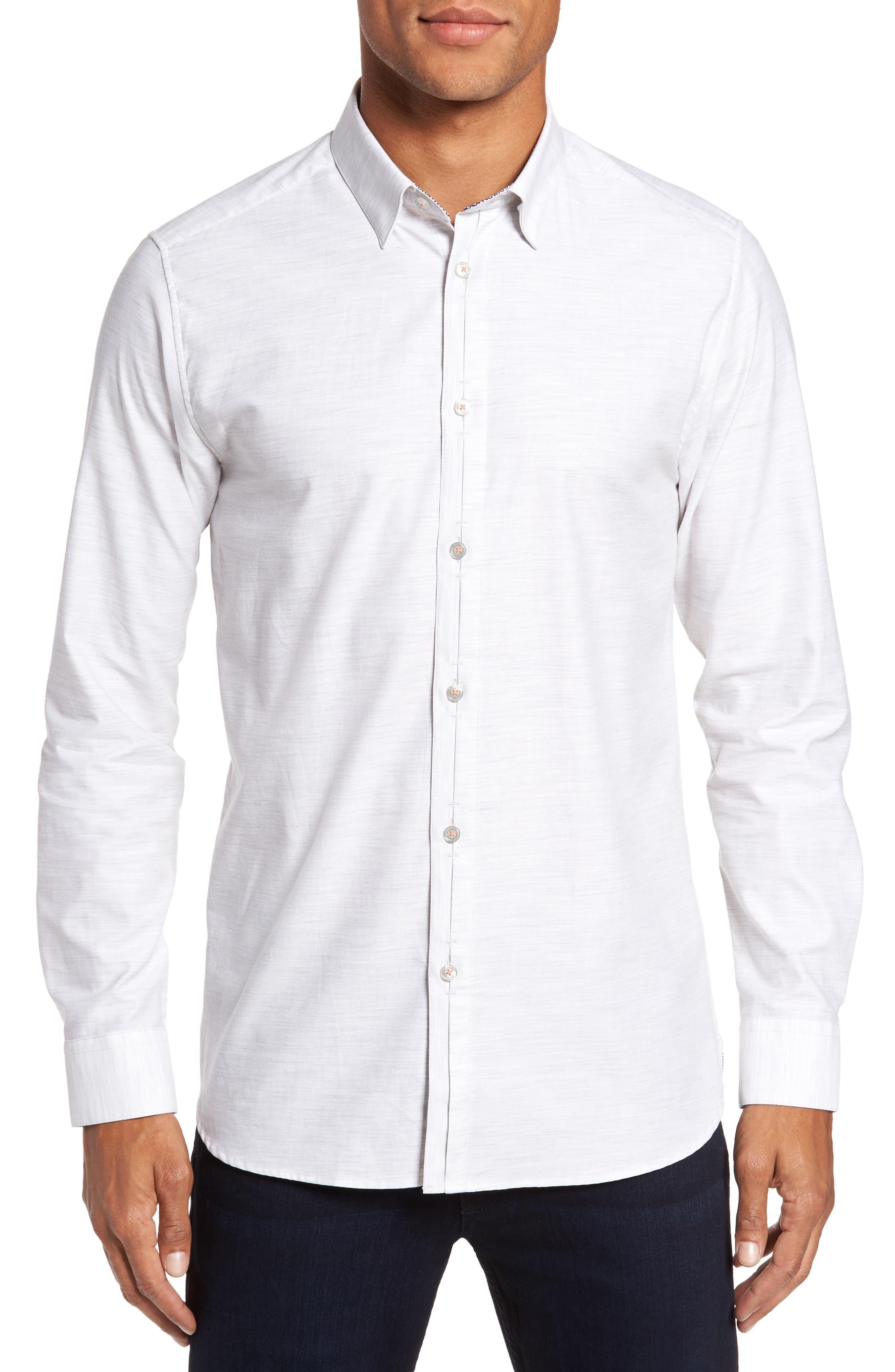 Annisley Modern Slim Fit Sport Shirt,                         Main,                         color, 031