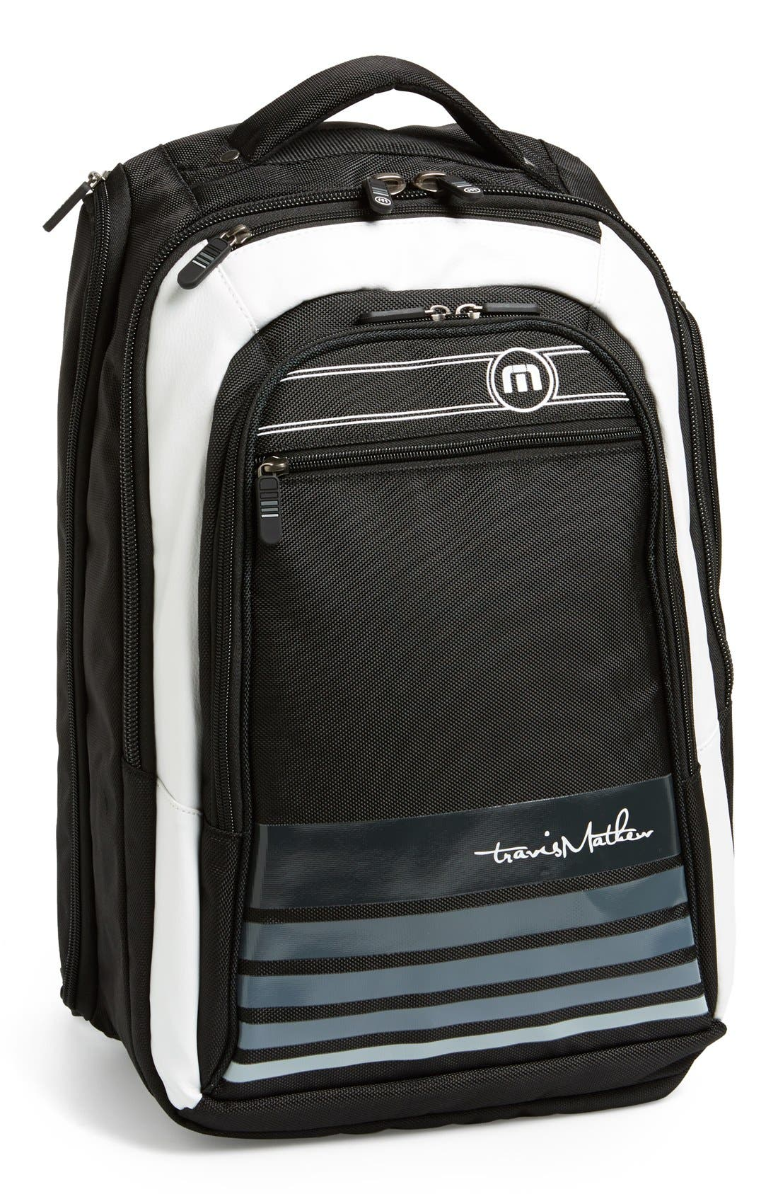 Laptop Travel Backpack, Main, color, 001