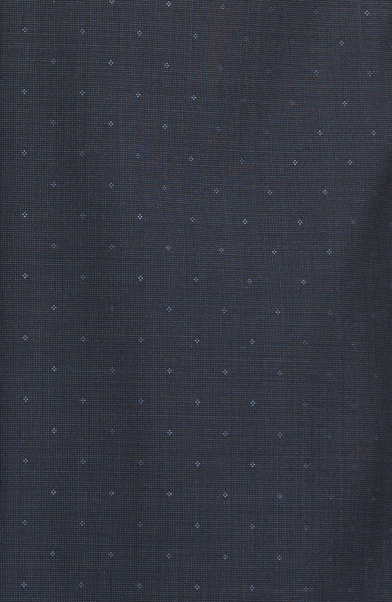 Classic Fit Dot Wool Suit,                             Alternate thumbnail 7, color,                             416