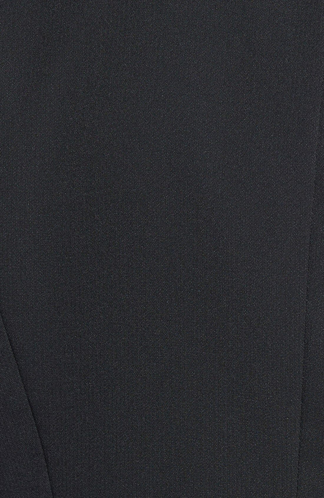 Drapey Zip Blazer,                             Alternate thumbnail 2, color,                             001