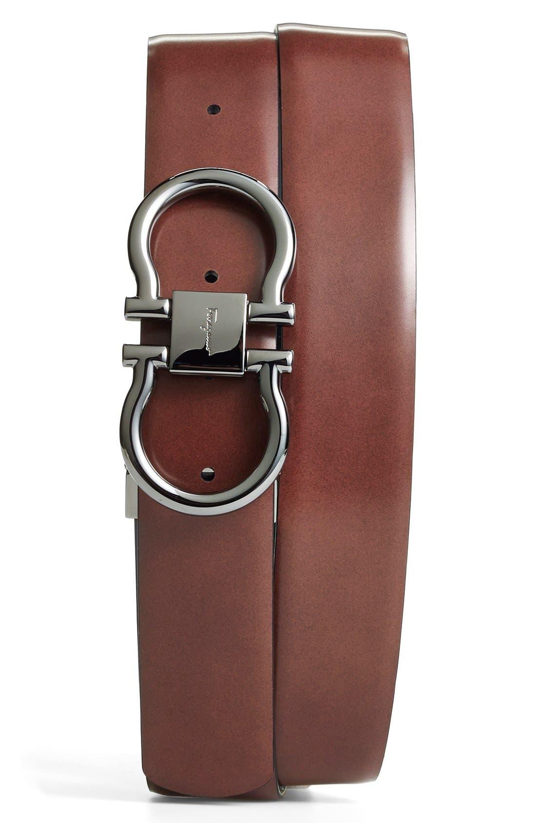 SALVATORE FERRAGAMO,                             Reversible Belt,                             Alternate thumbnail 5, color,                             004