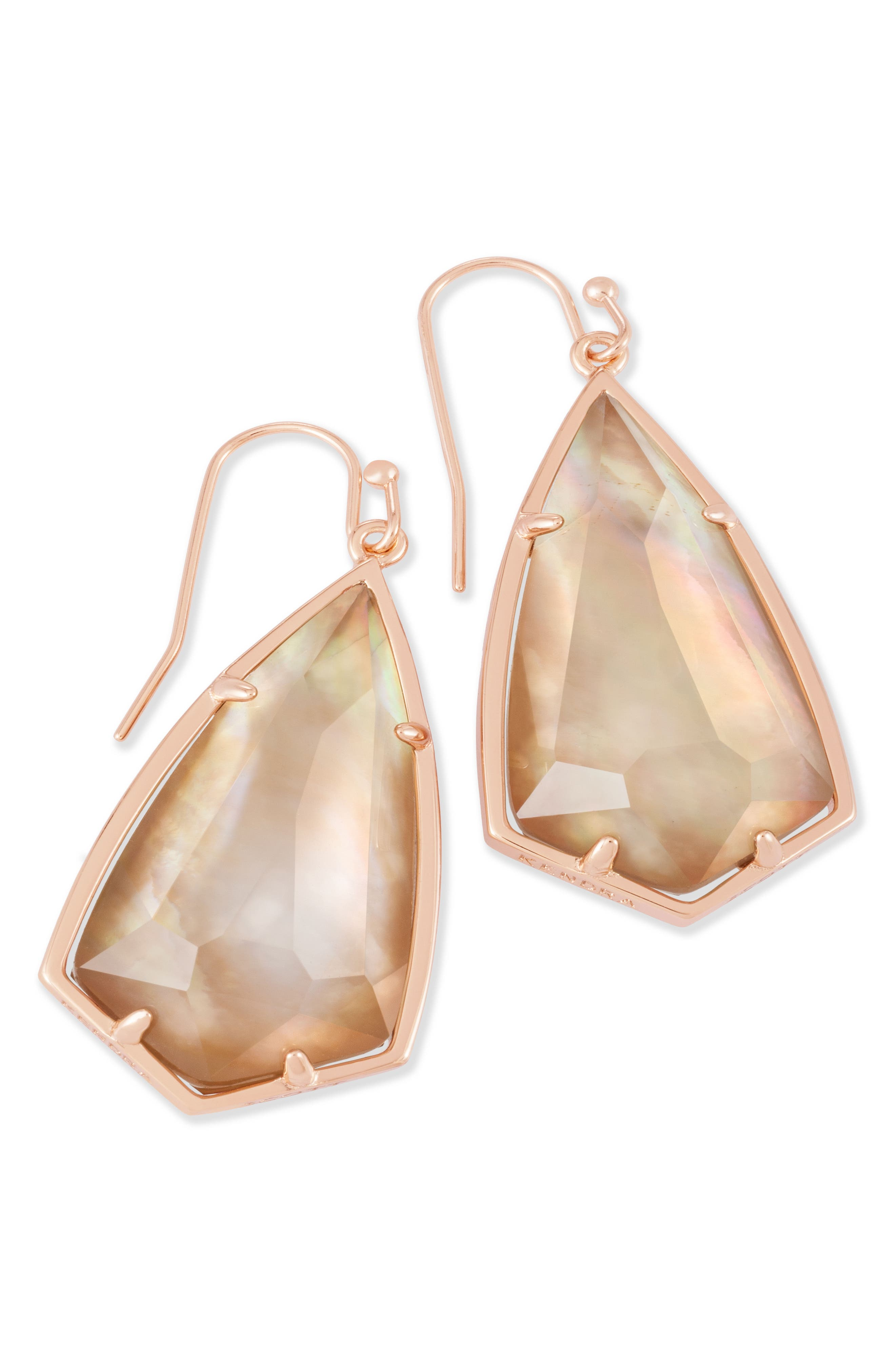 Carla Semiprecious Stone Drop Earrings,                             Alternate thumbnail 30, color,
