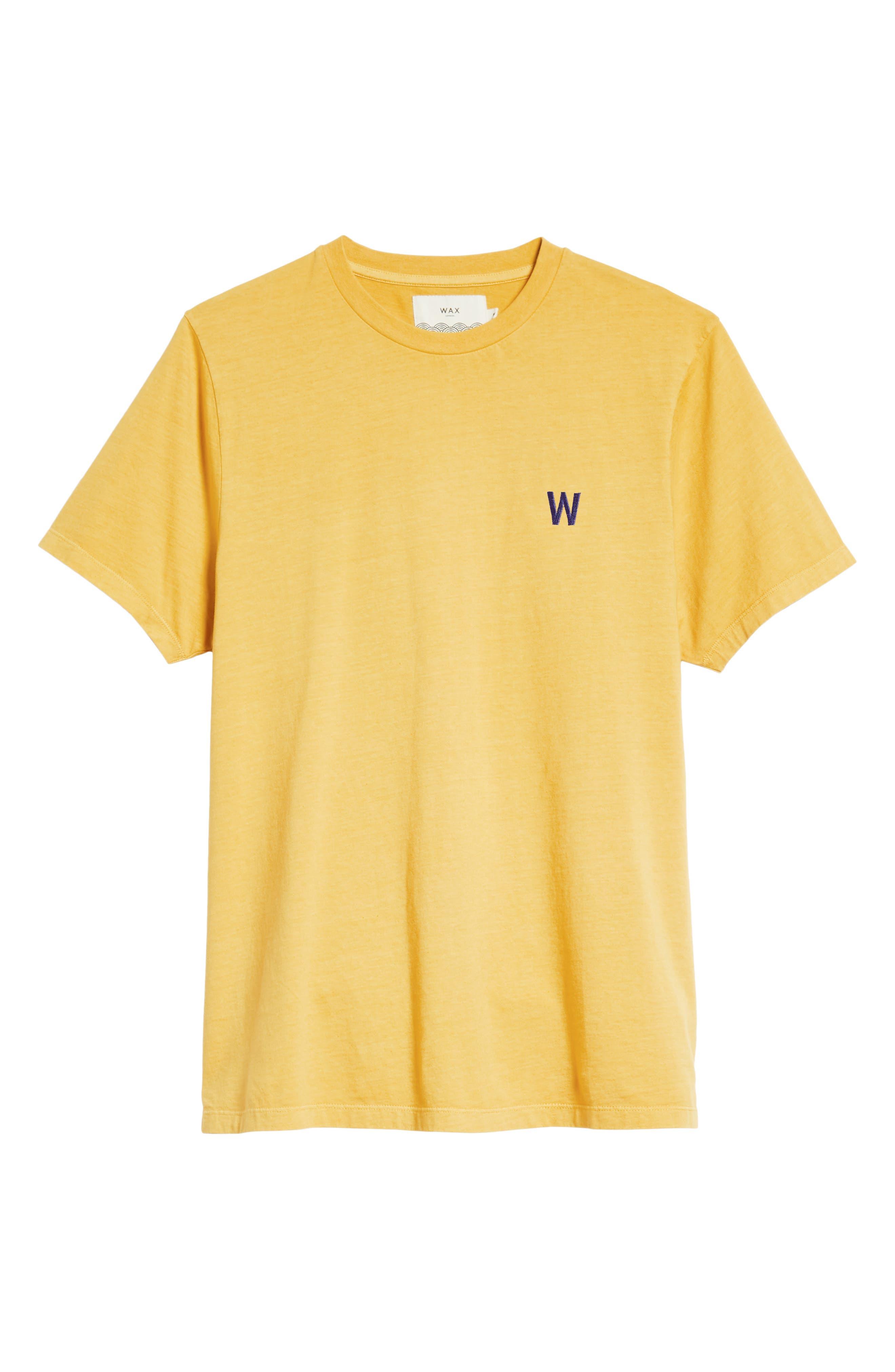 Reid T-Shirt,                             Alternate thumbnail 6, color,                             LEMON