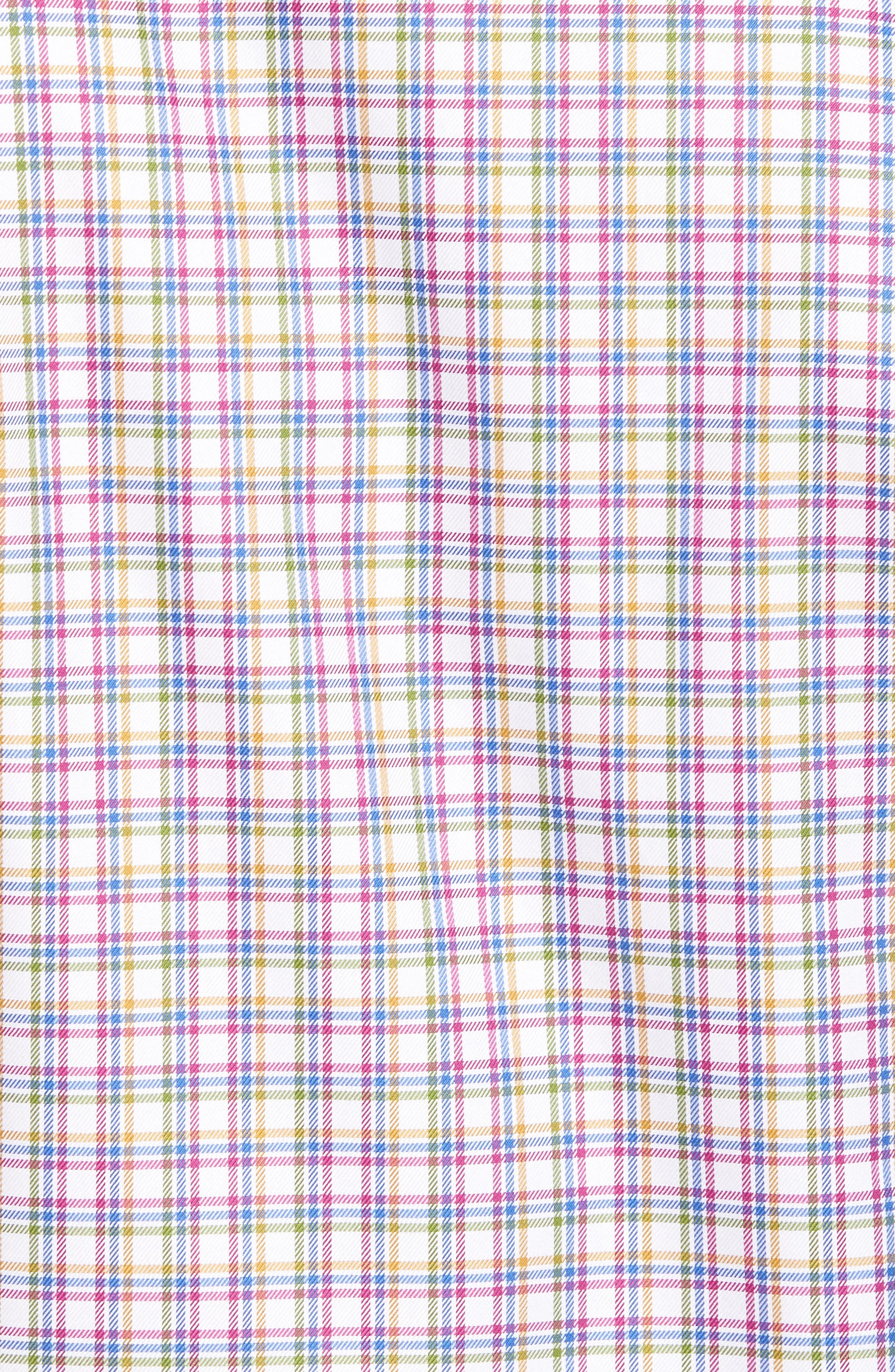 Regular Fit Plaid Sport Shirt,                             Alternate thumbnail 5, color,                             464