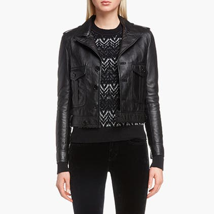 Saint Laurent clothing.