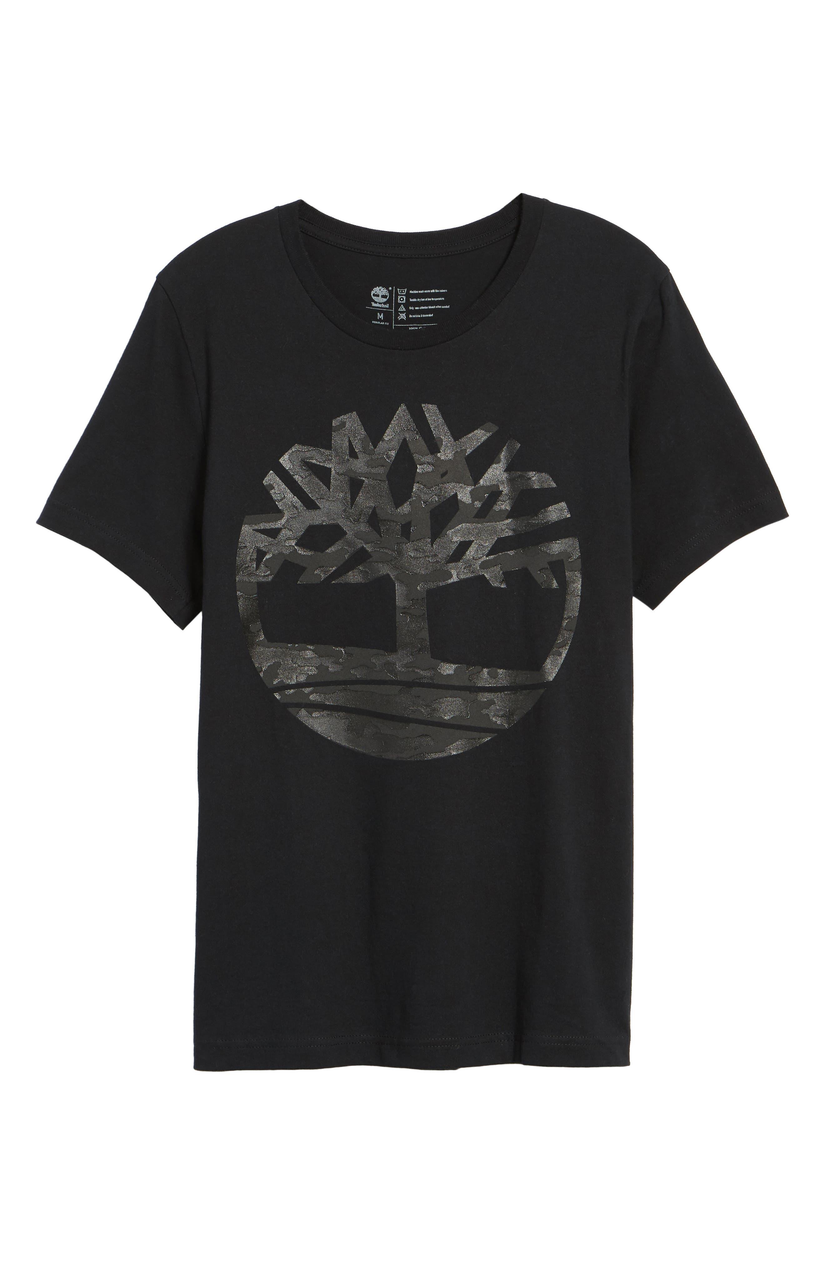 Textured Camo Graphic T-Shirt,                             Alternate thumbnail 6, color,                             001