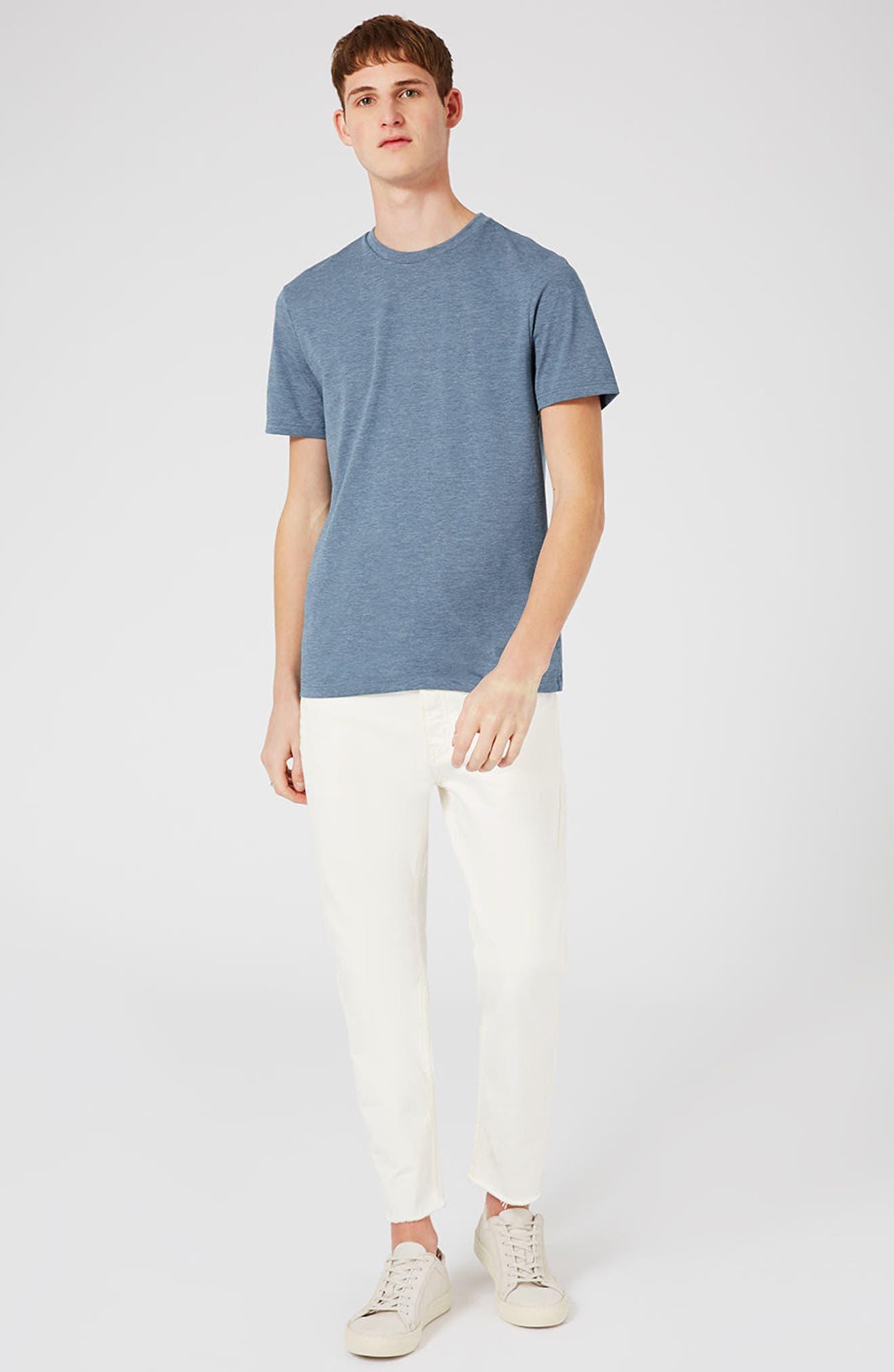 Slim Fit Crewneck T-Shirt,                             Alternate thumbnail 298, color,
