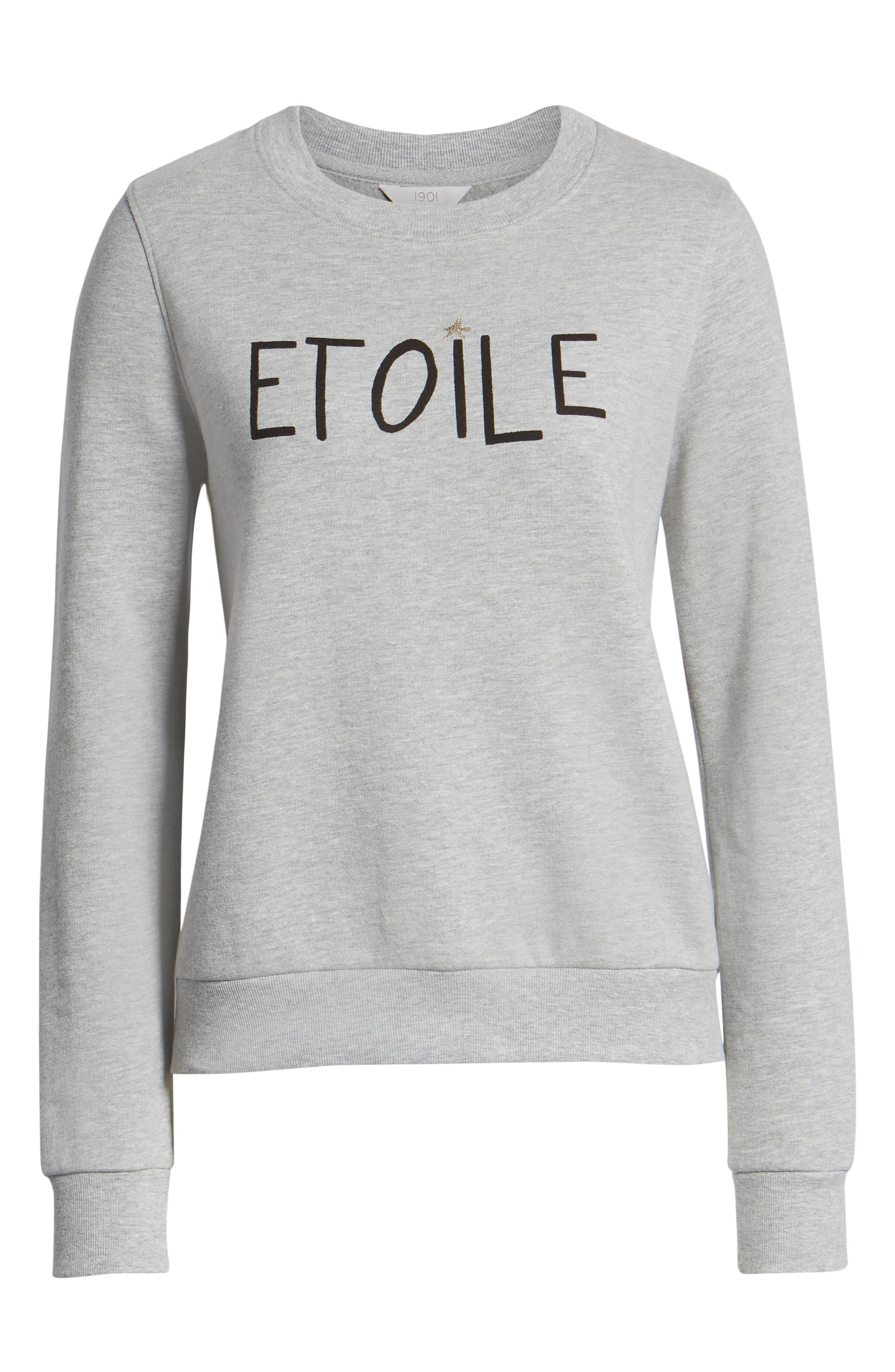 Etoile Sweatshirt,                             Alternate thumbnail 6, color,                             030