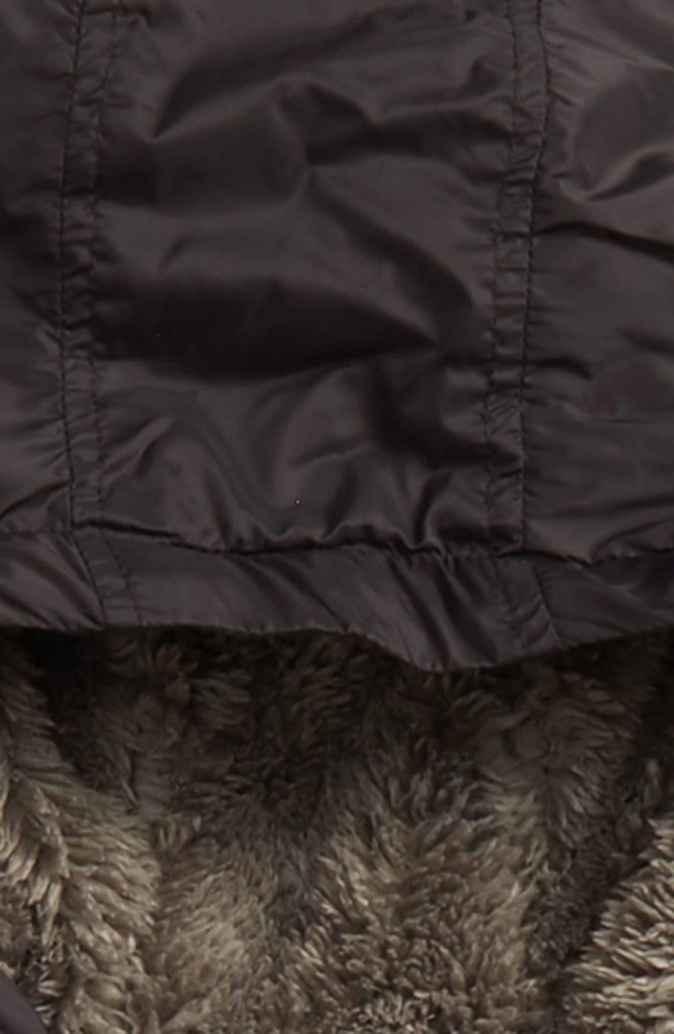 Water Resistant Nylon Hooded Jacket,                             Alternate thumbnail 2, color,                             001