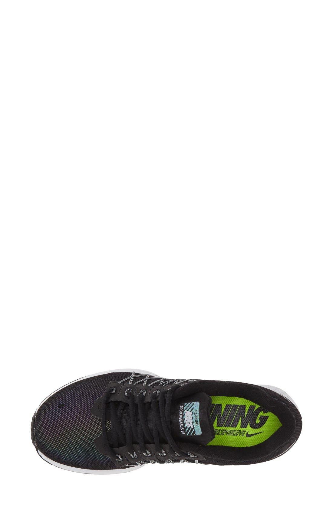 NIKE,                             'Zoom Pegasus 32 - Flash' h2o Repel Running Shoe,                             Alternate thumbnail 2, color,                             001