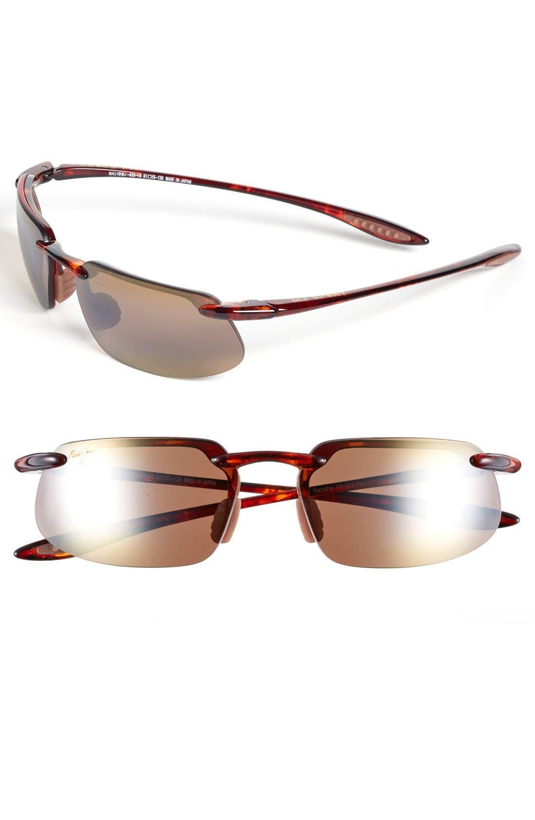 'Kanaha - PolarizedPlus<sup>®</sup>2' 62mm Sunglasses,                             Main thumbnail 3, color,