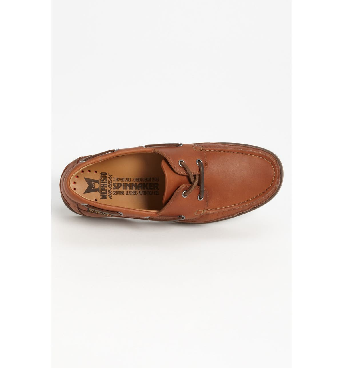 Mephisto  Boating  Water Resistant Leather Boat Shoe (Men)   Nordstrom 279e2fb635