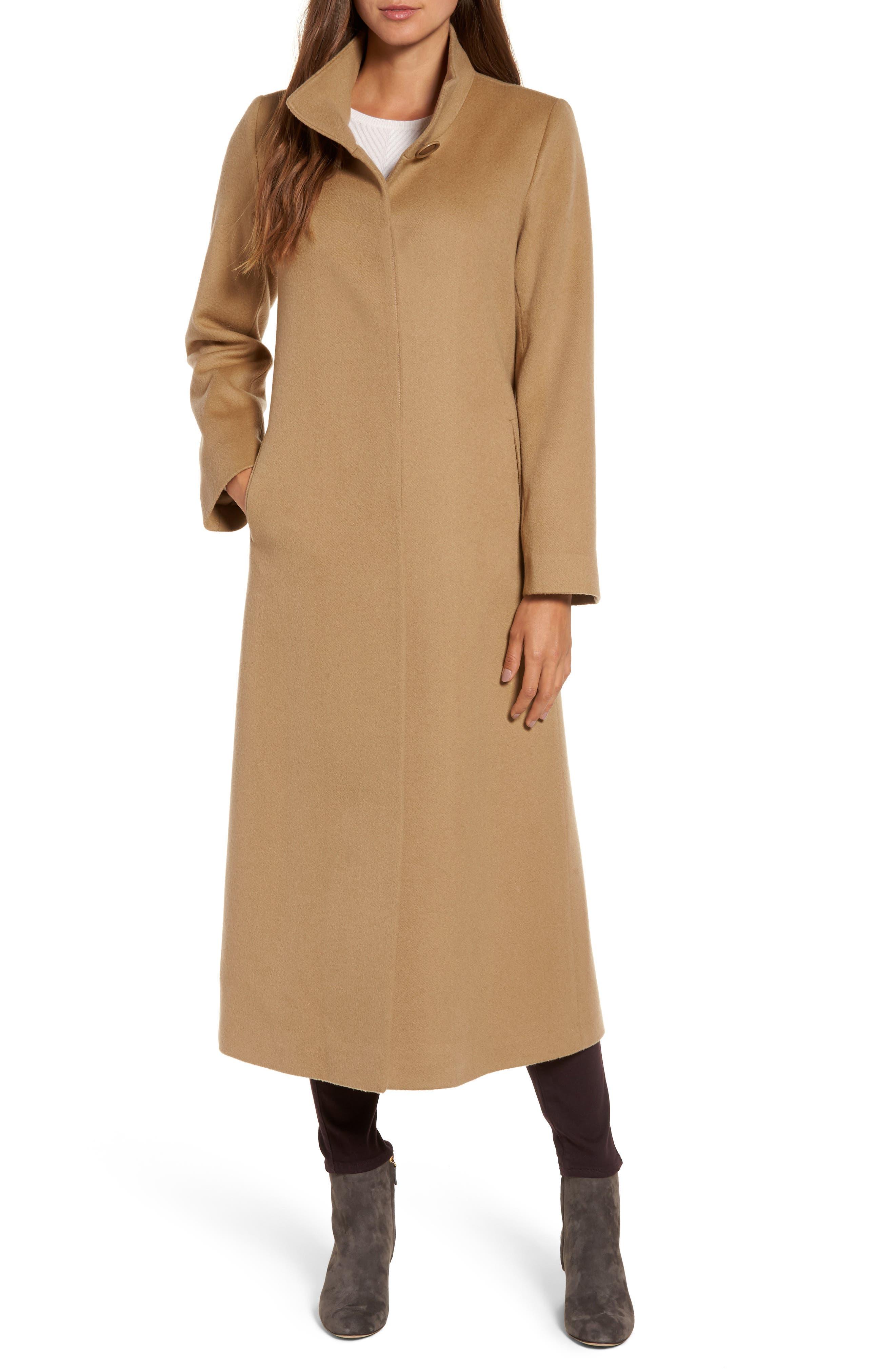 Cashmere Long Coat,                             Main thumbnail 2, color,