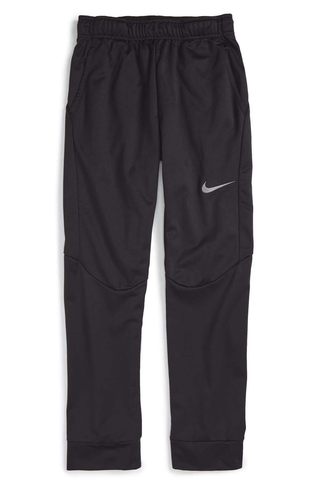 Therma-FIT Tapered Fleece Pants,                             Main thumbnail 1, color,